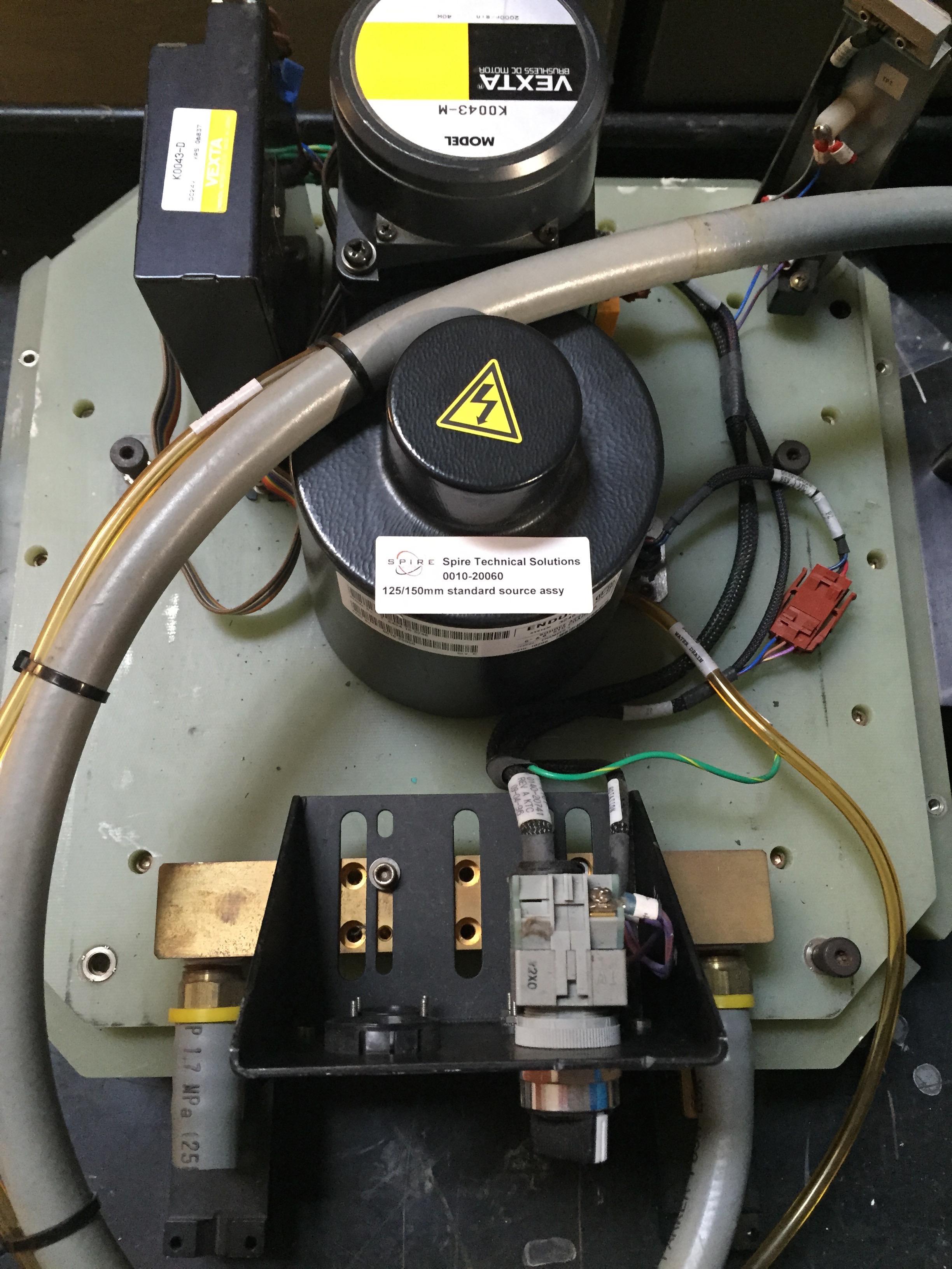 125/150mm standard source assy