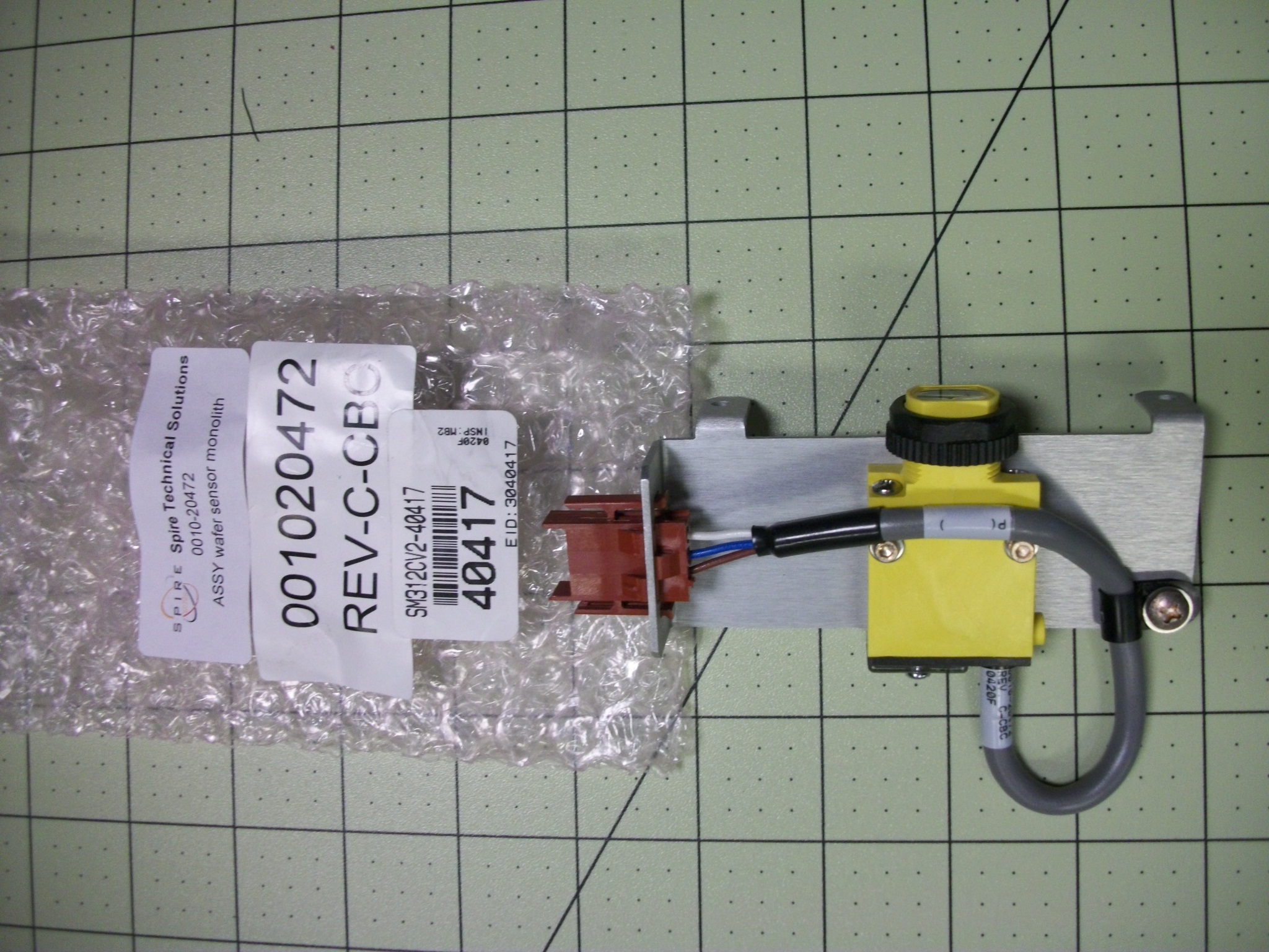 Assembly Wafer Sensor Monolith