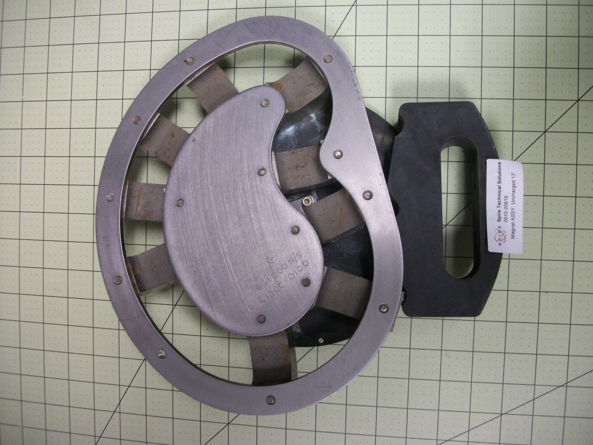 """Magnet ASSY. Uncharged 13"""""""