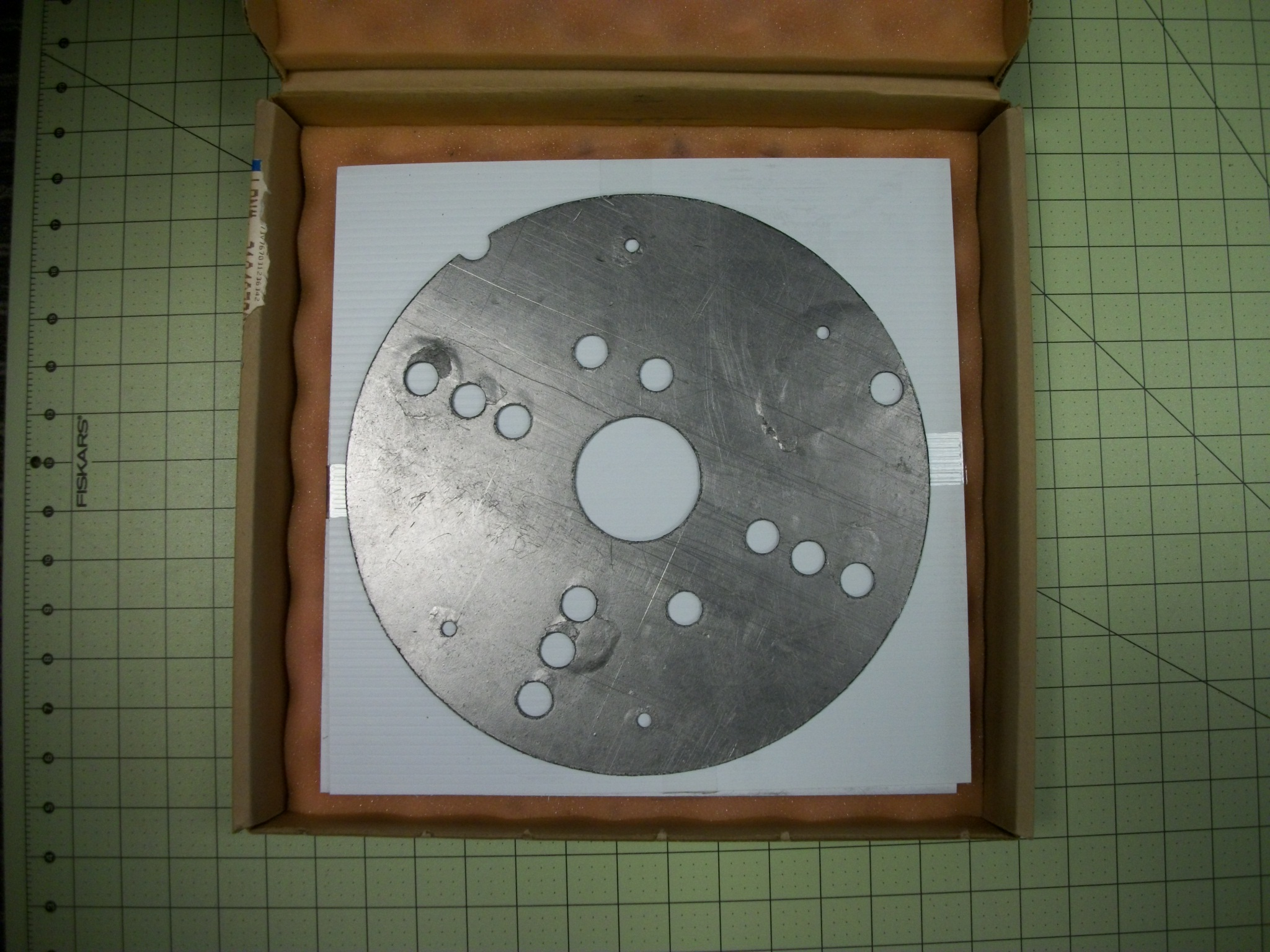 "Thermal gasket, cold plate .060"" GRAFOIL"
