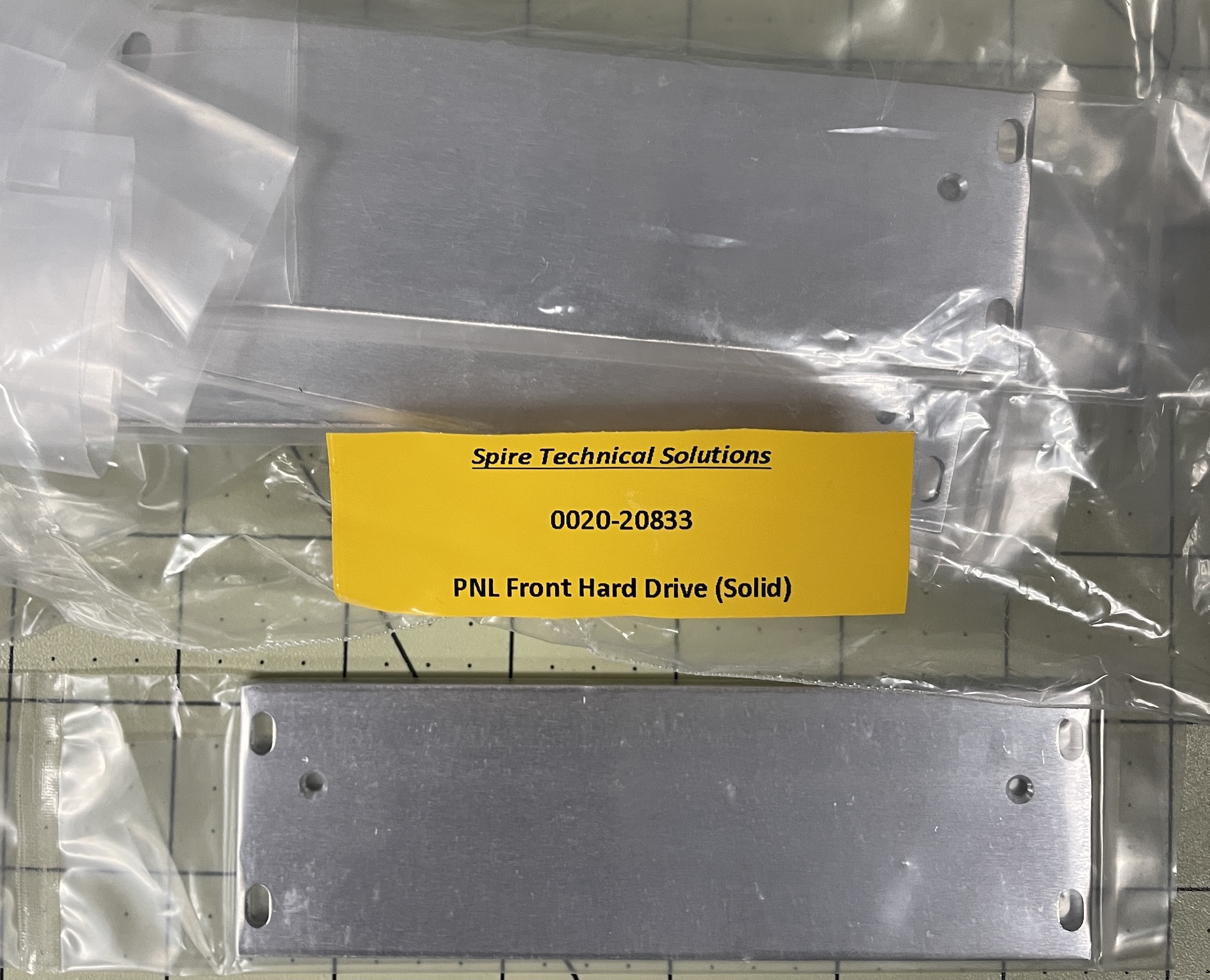 Panel Front Hard Drive