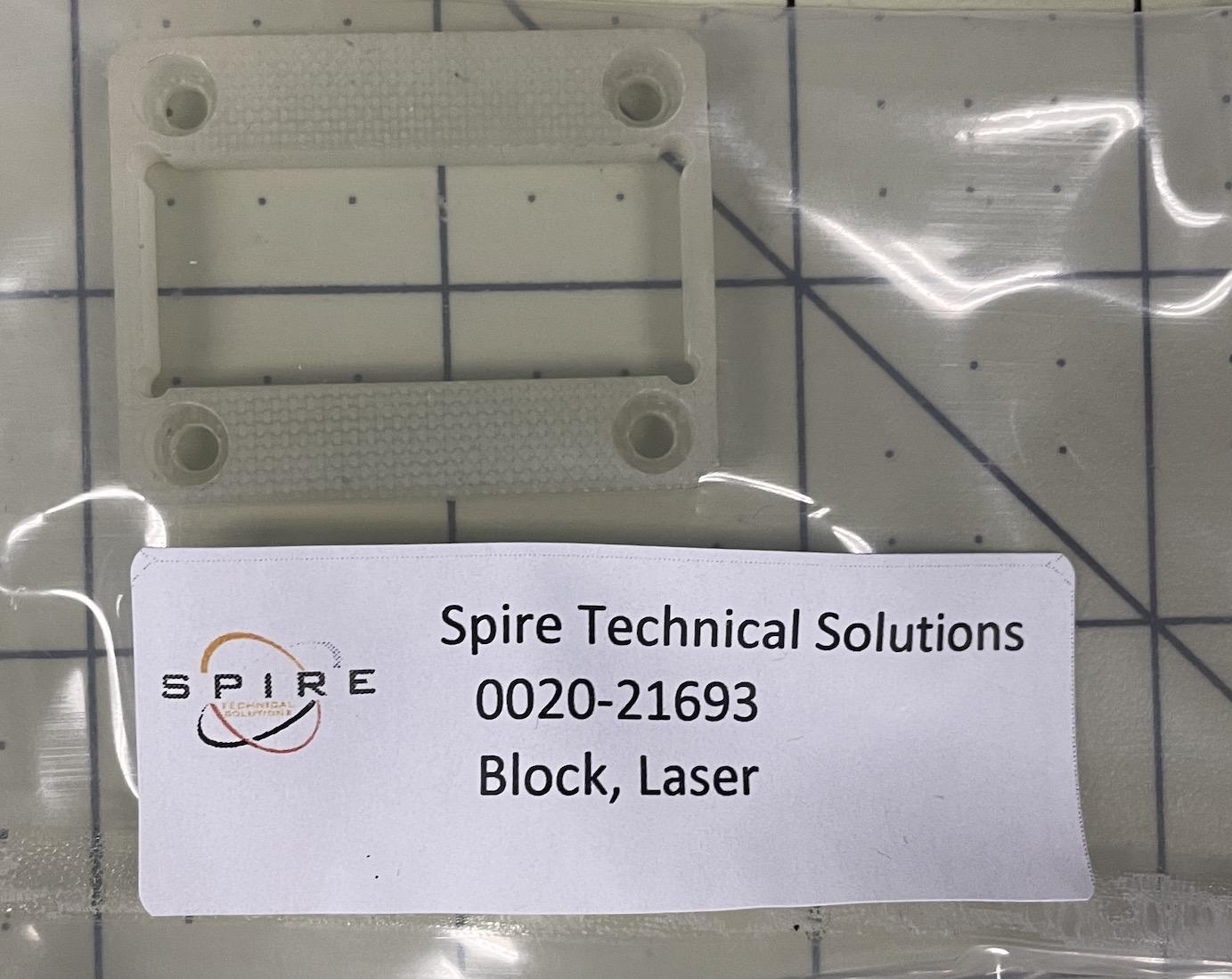 Block, Laser