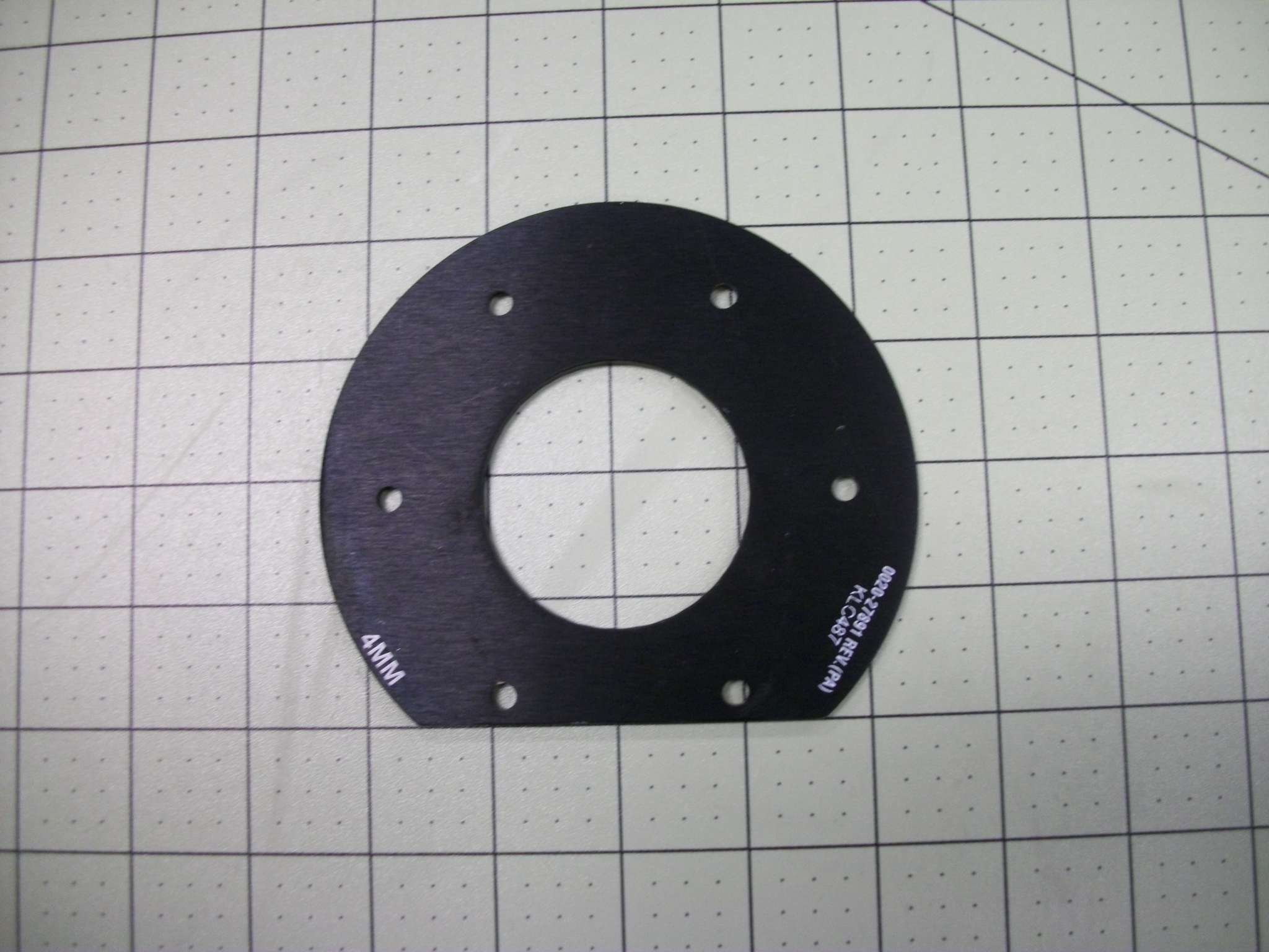 Shim, magnet ASSY, 4.0mm, AL