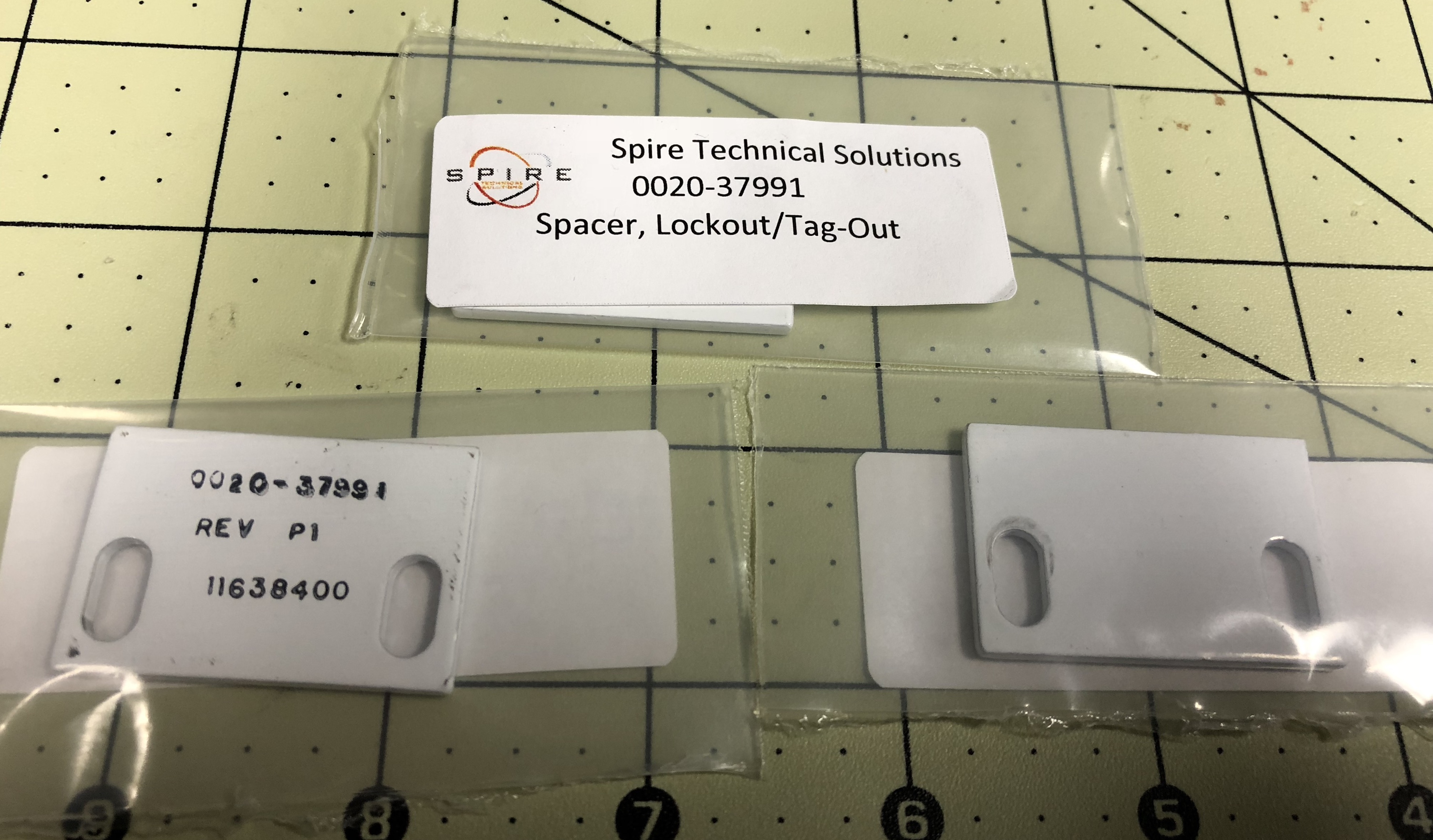 Spacer, Lockout/Tag-out