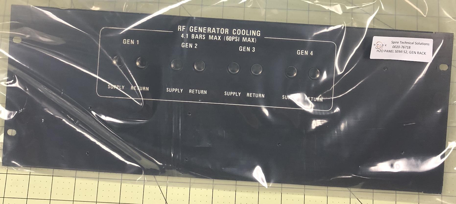 H20 Panel, Gen Rack