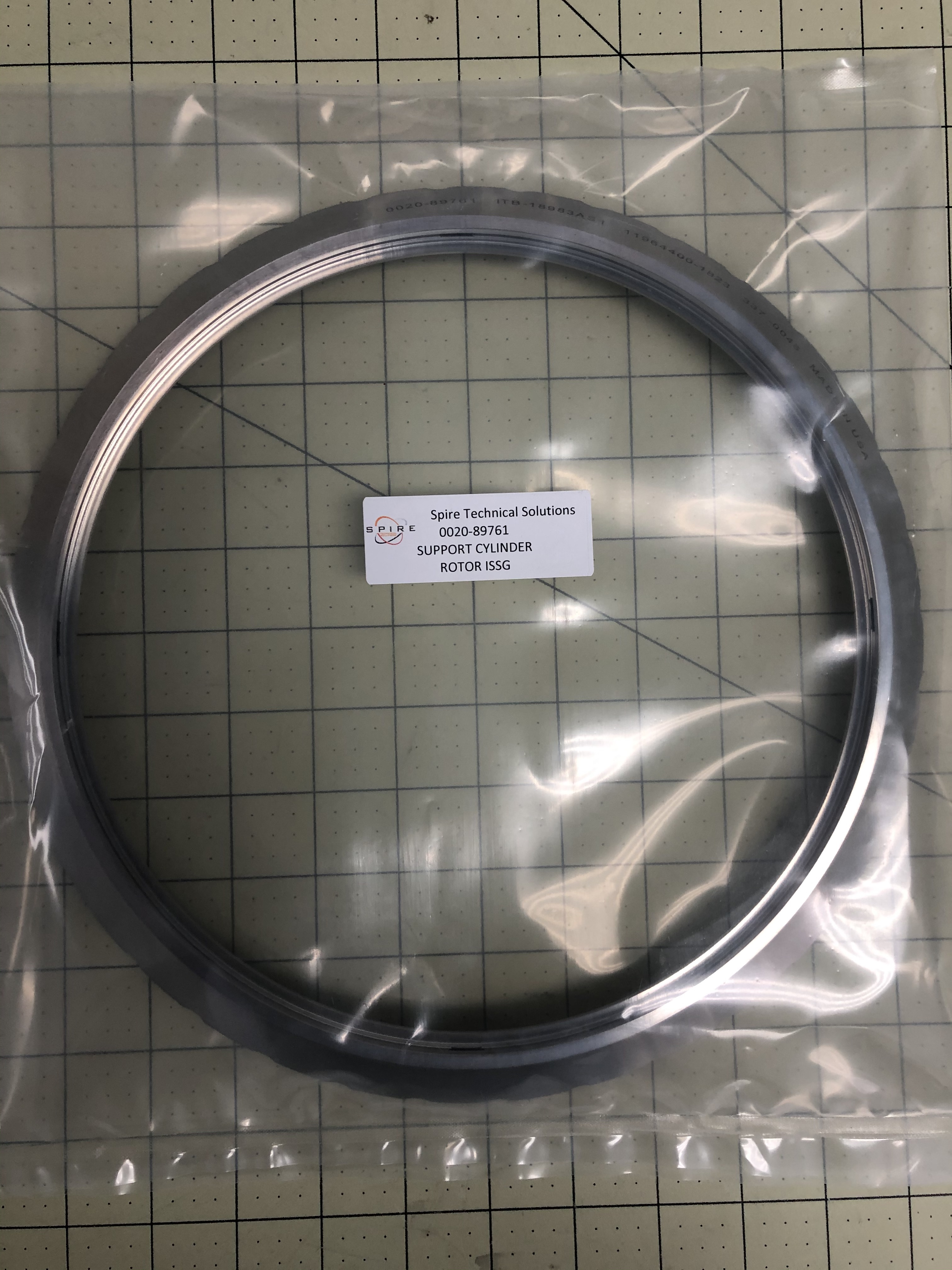 SUPPORT CYLINDER ROTOR ISSG