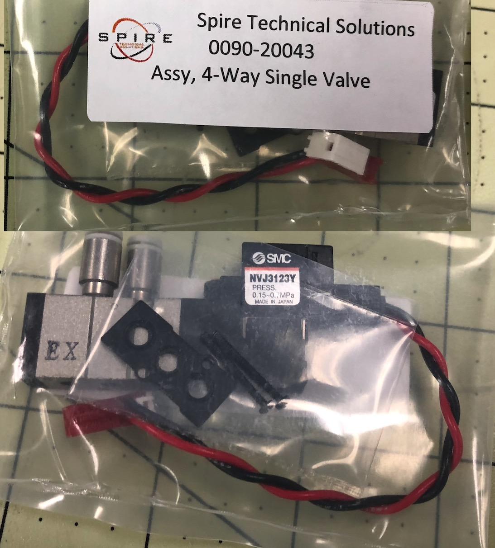 ASSY, 4-way single valve