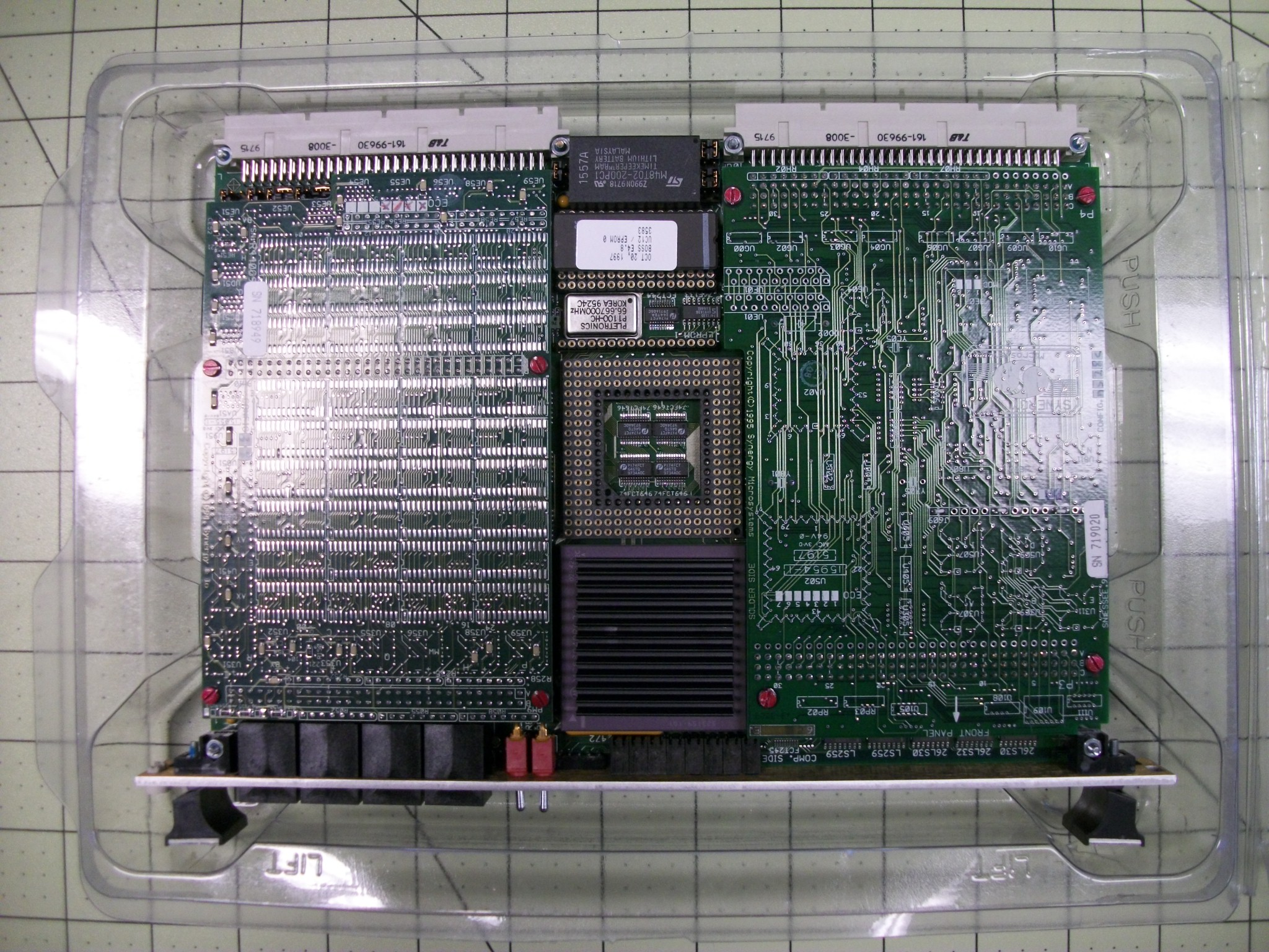 PCBA ASSY,SBC SYNERGY 68040 controller