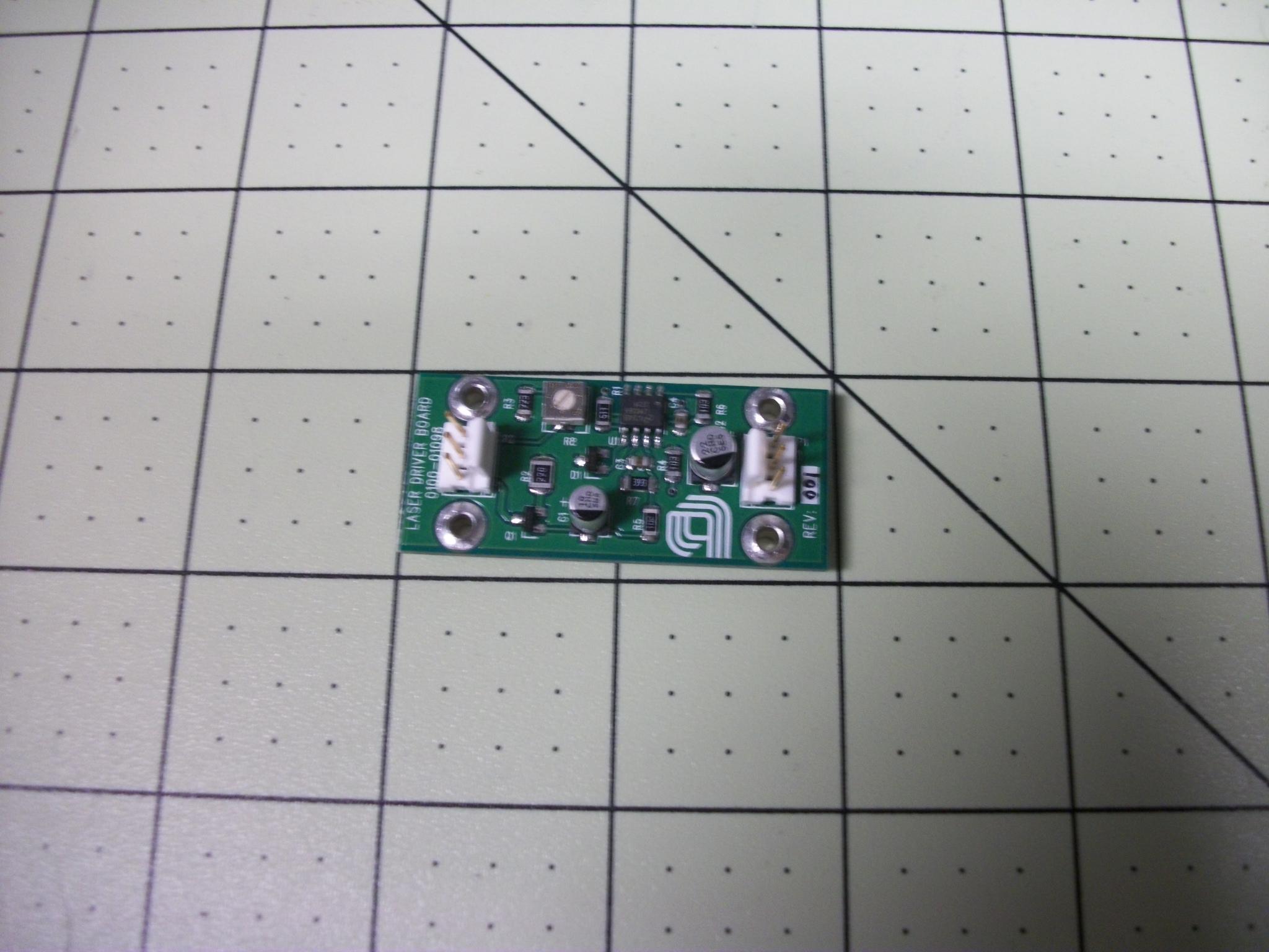 PCB Assy, Laser Driver II