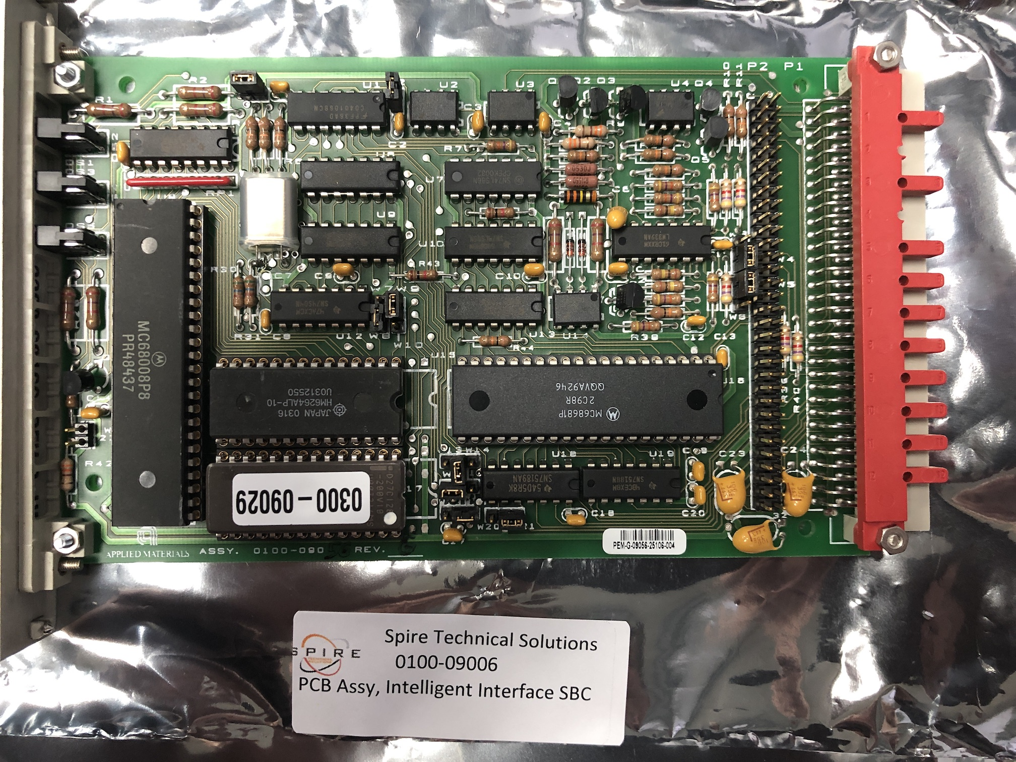 PCB Assy, Intelligent Interface SBC