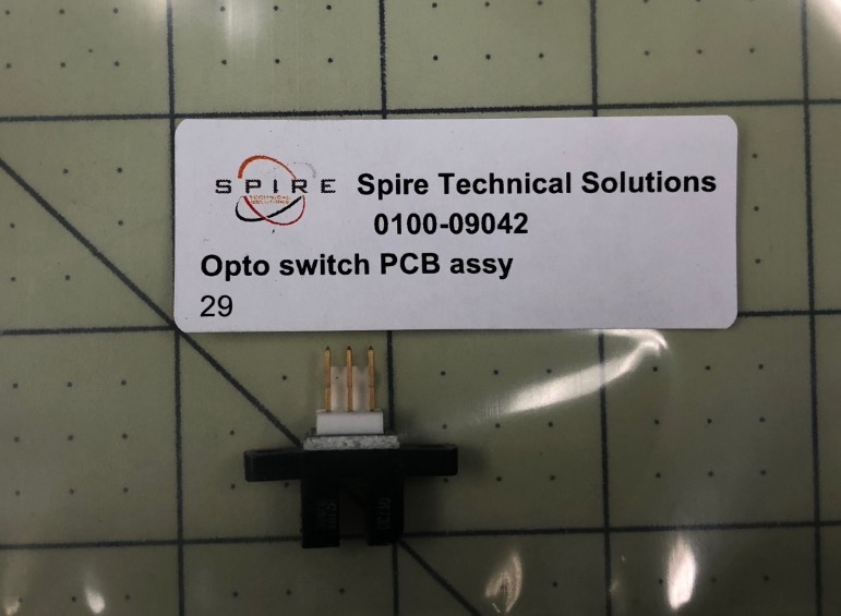 Opto switch PCB assy