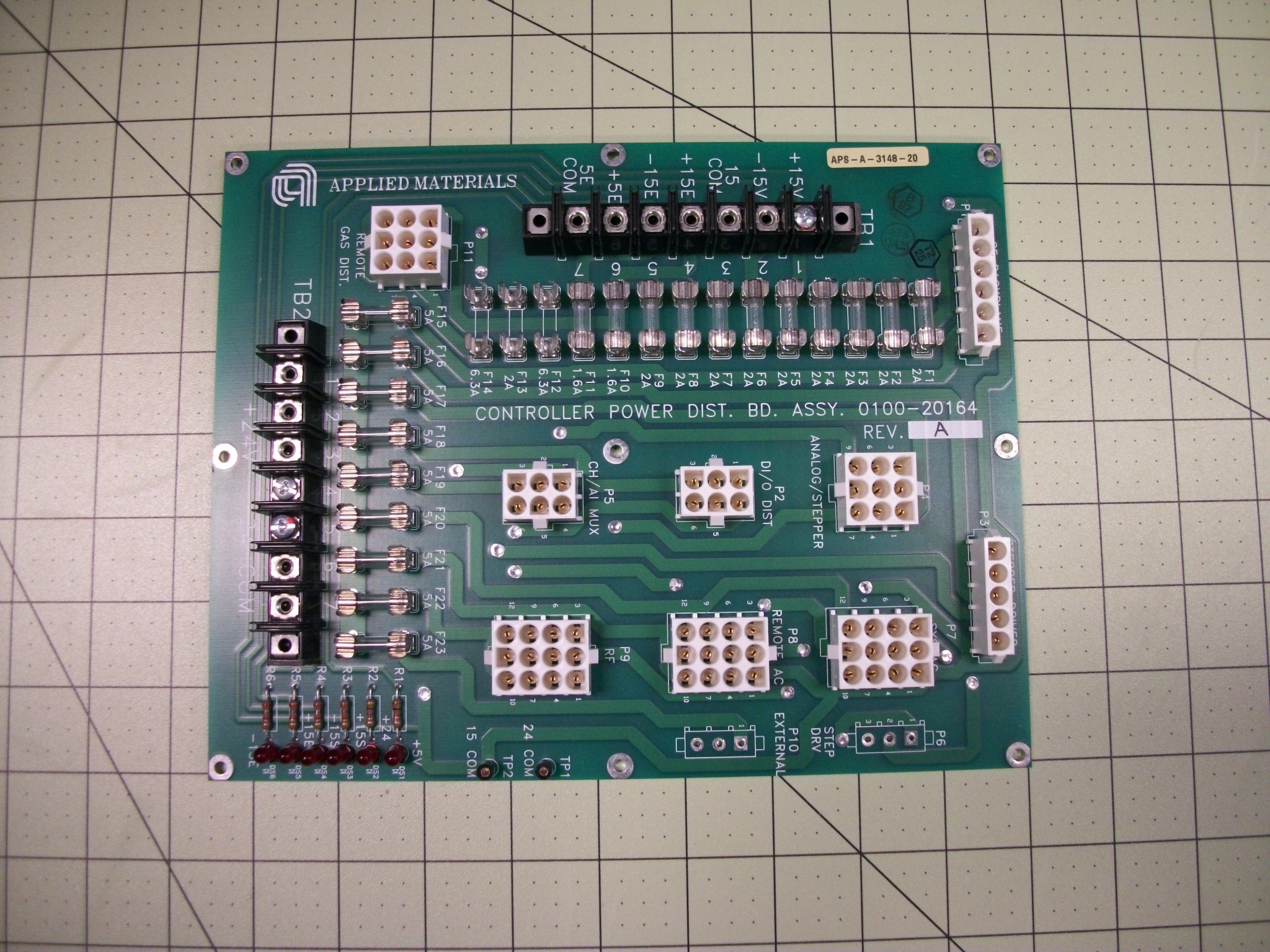 PCB ASSY,CONT power DIST