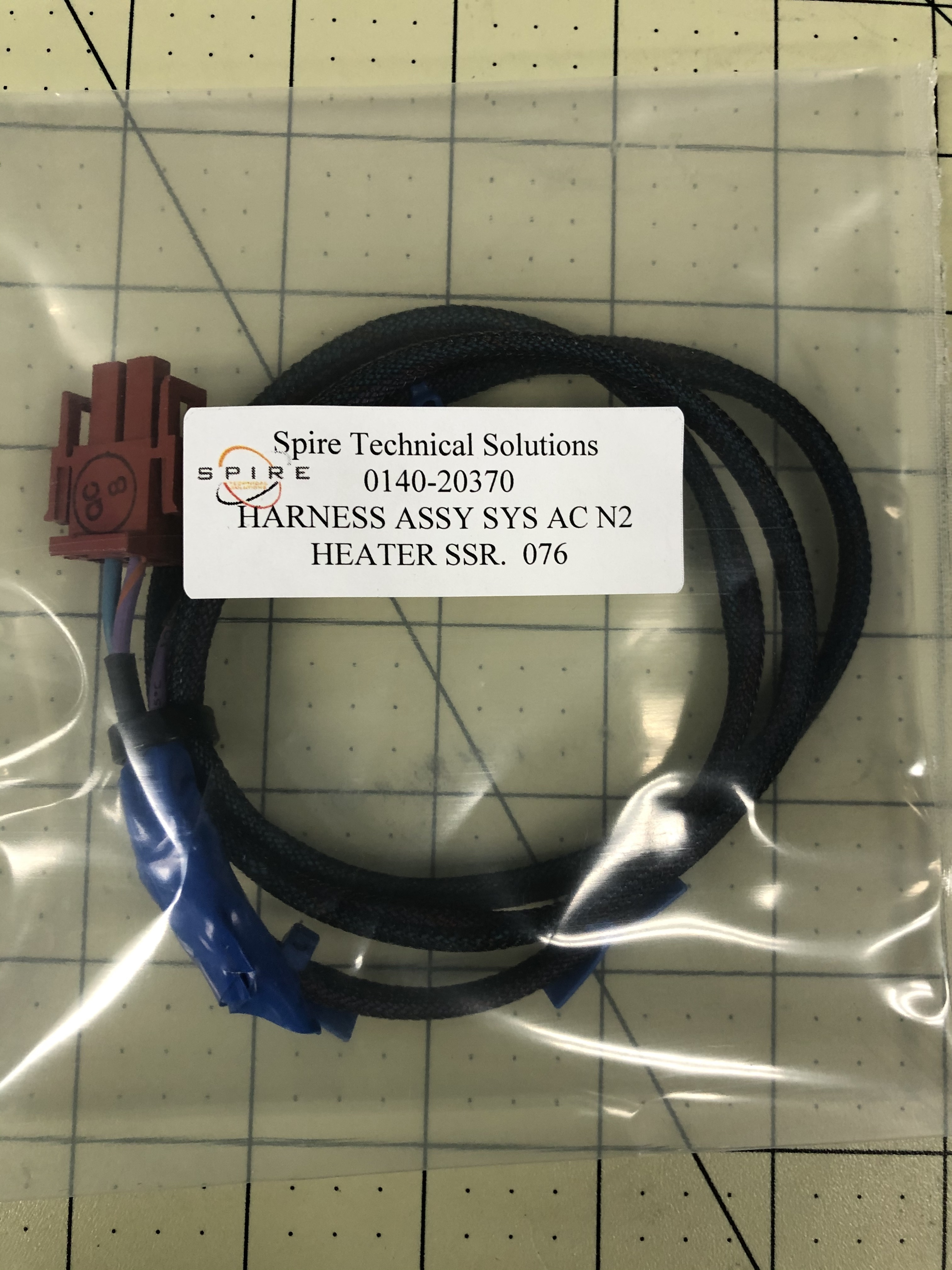 HARNESS ASSY SYS AC N2 HEATER SSR