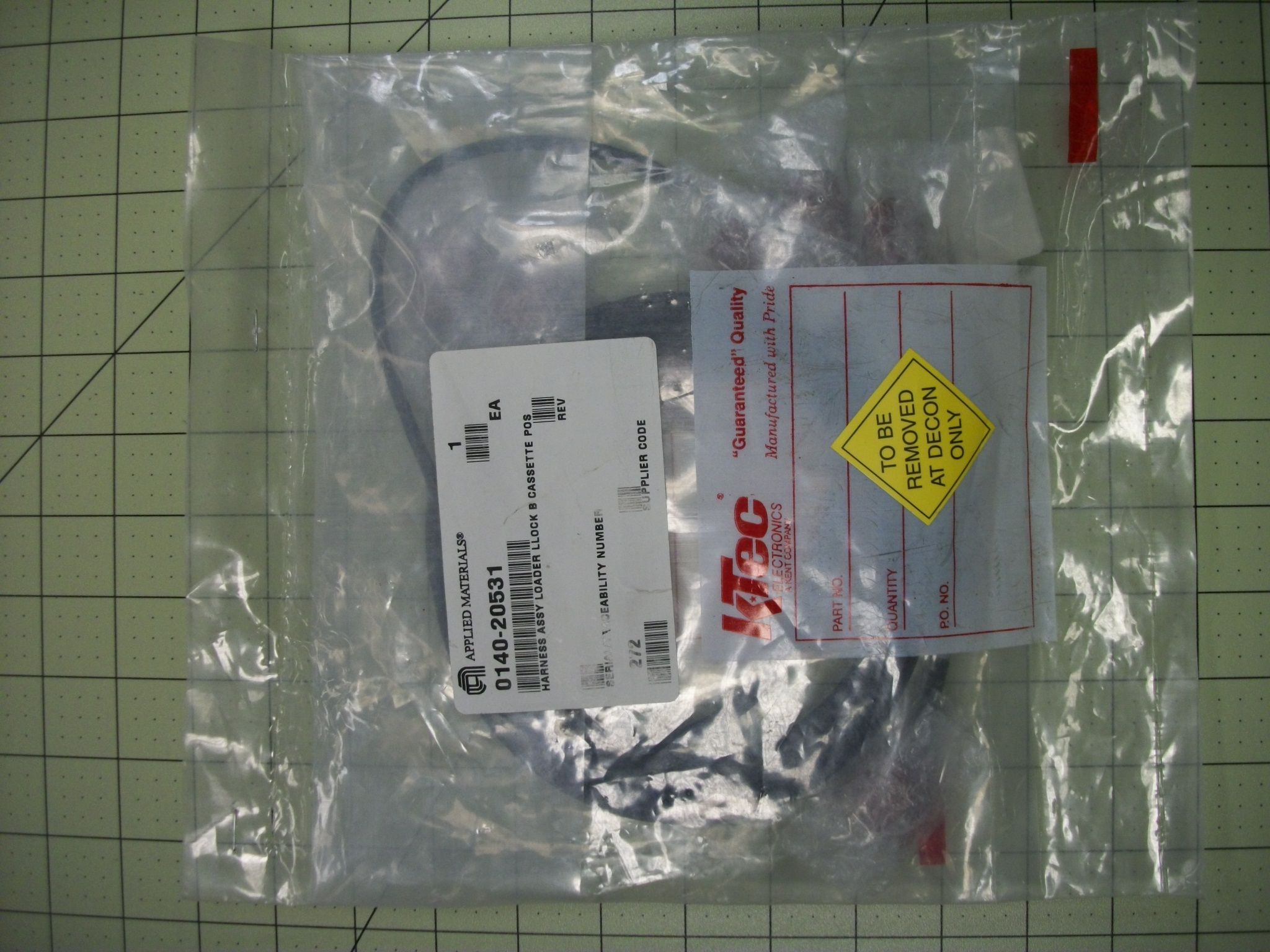 Harness ASSY loader LLOCK B cassette POS