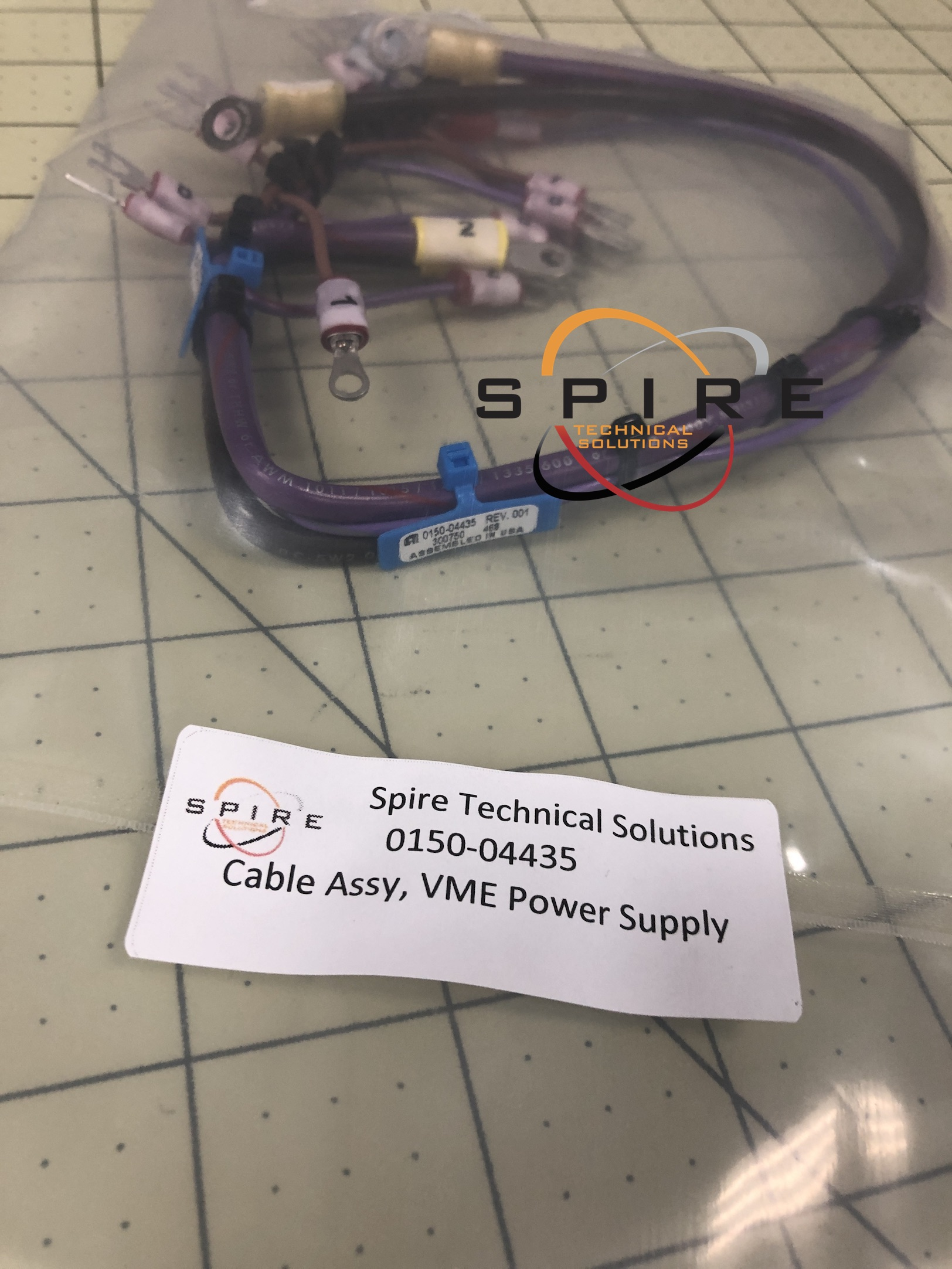 Cable Assy, VME Power Supply