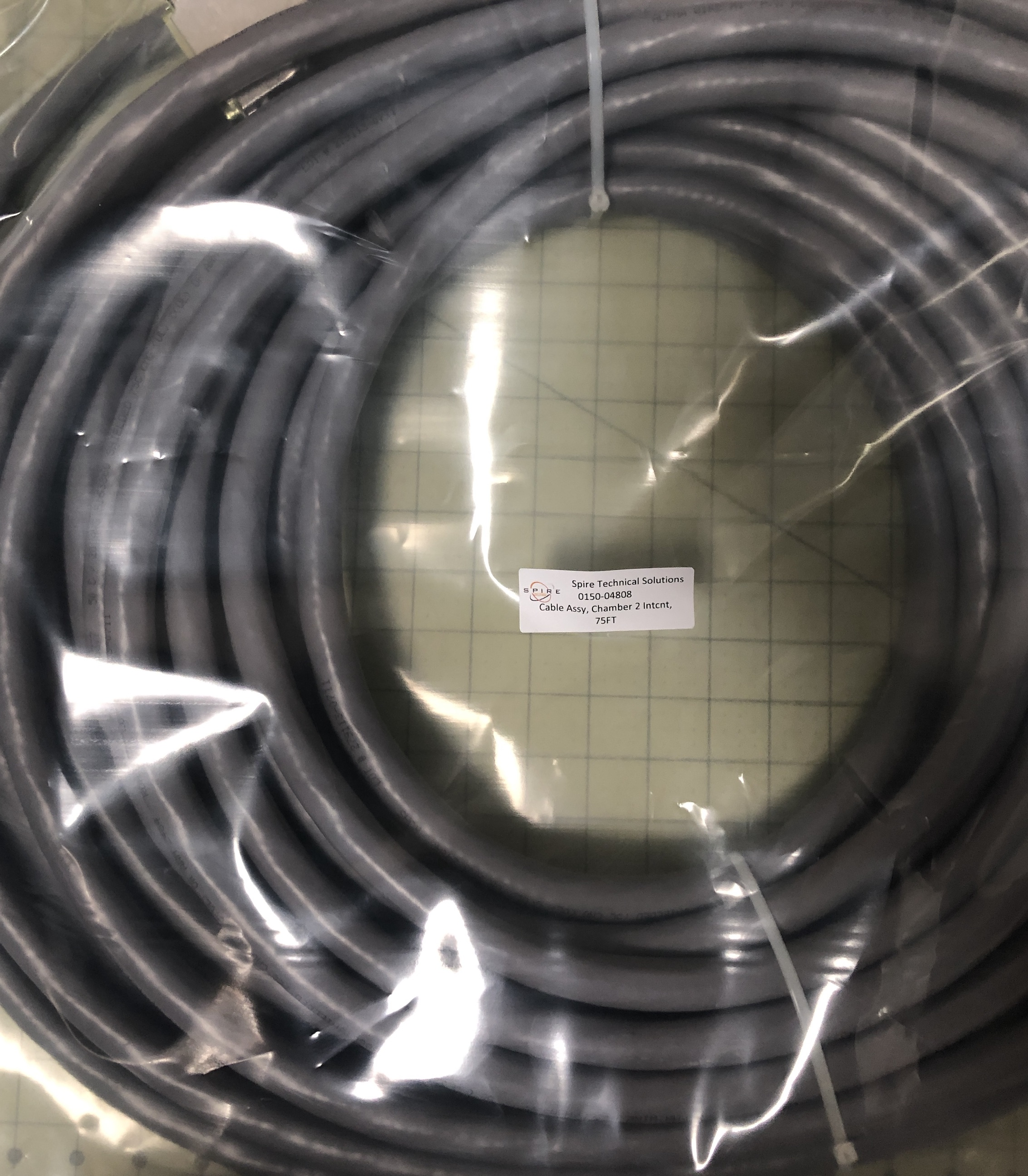 Cable Assy, Chamber 2 Intcnt, 75FT