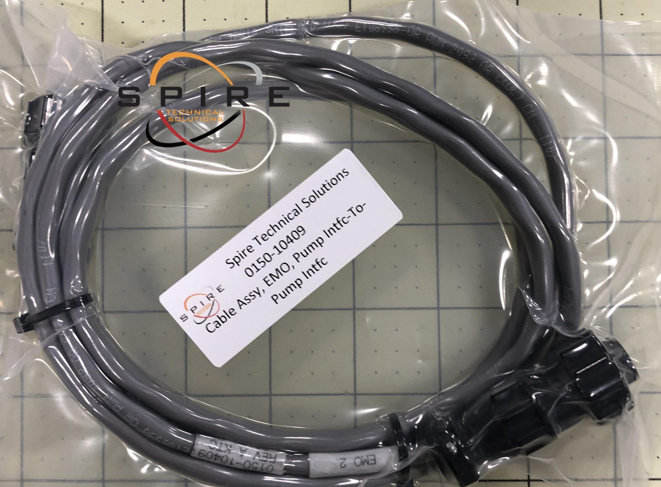 Cable Assy, EMO, Pump Intfc-To-Pump Intfc