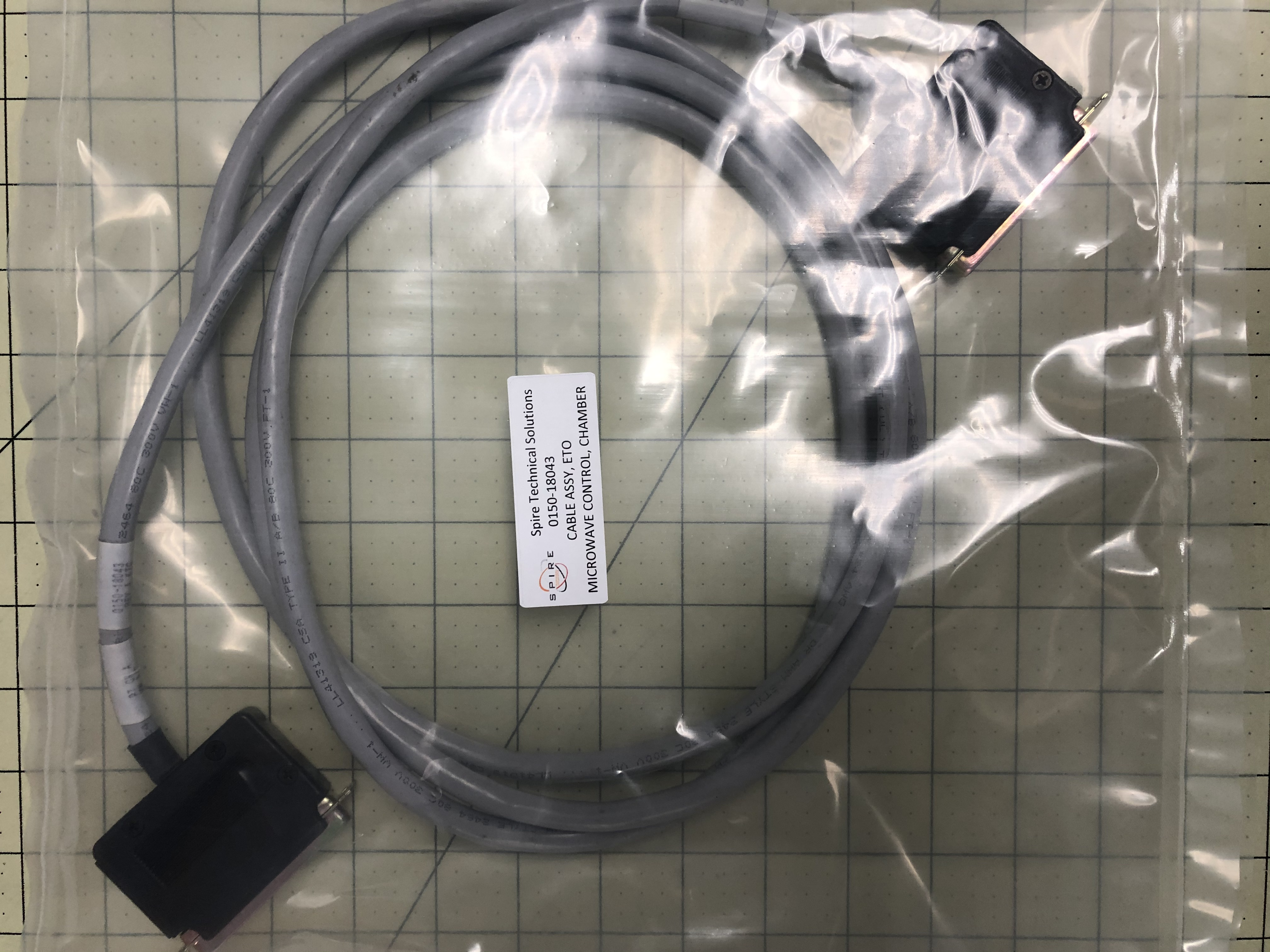 CABLE ASSY, ET MICROWAVE CONTROL, CHAMBER