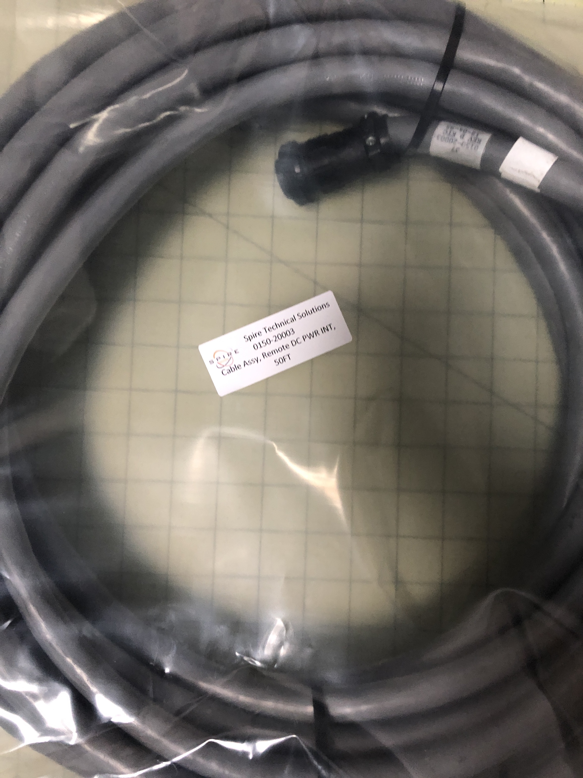 Cable Assy, Remote DC PWR INT, 50FT