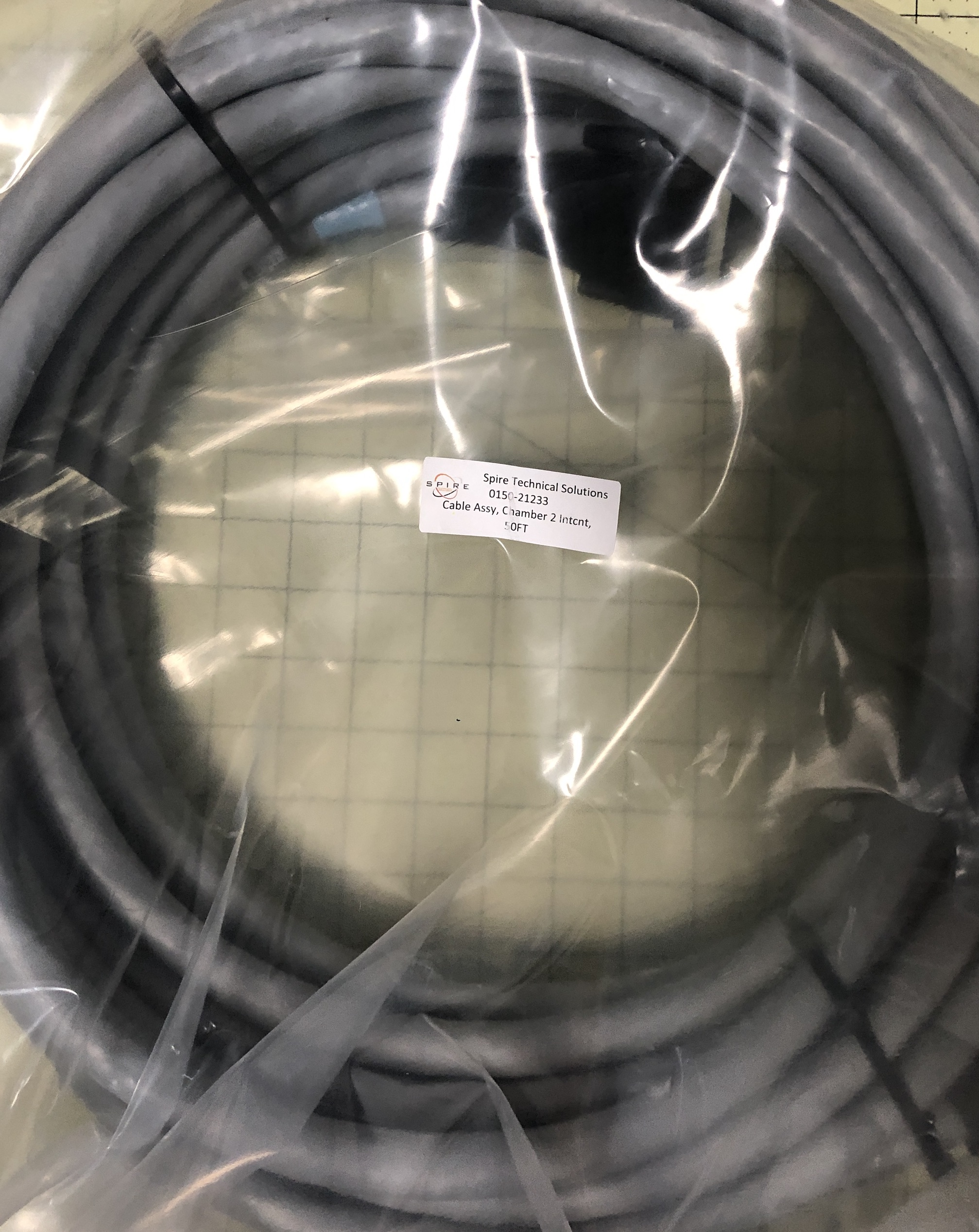 Cable Assy, Chamber 2 Intcnt, 50FT