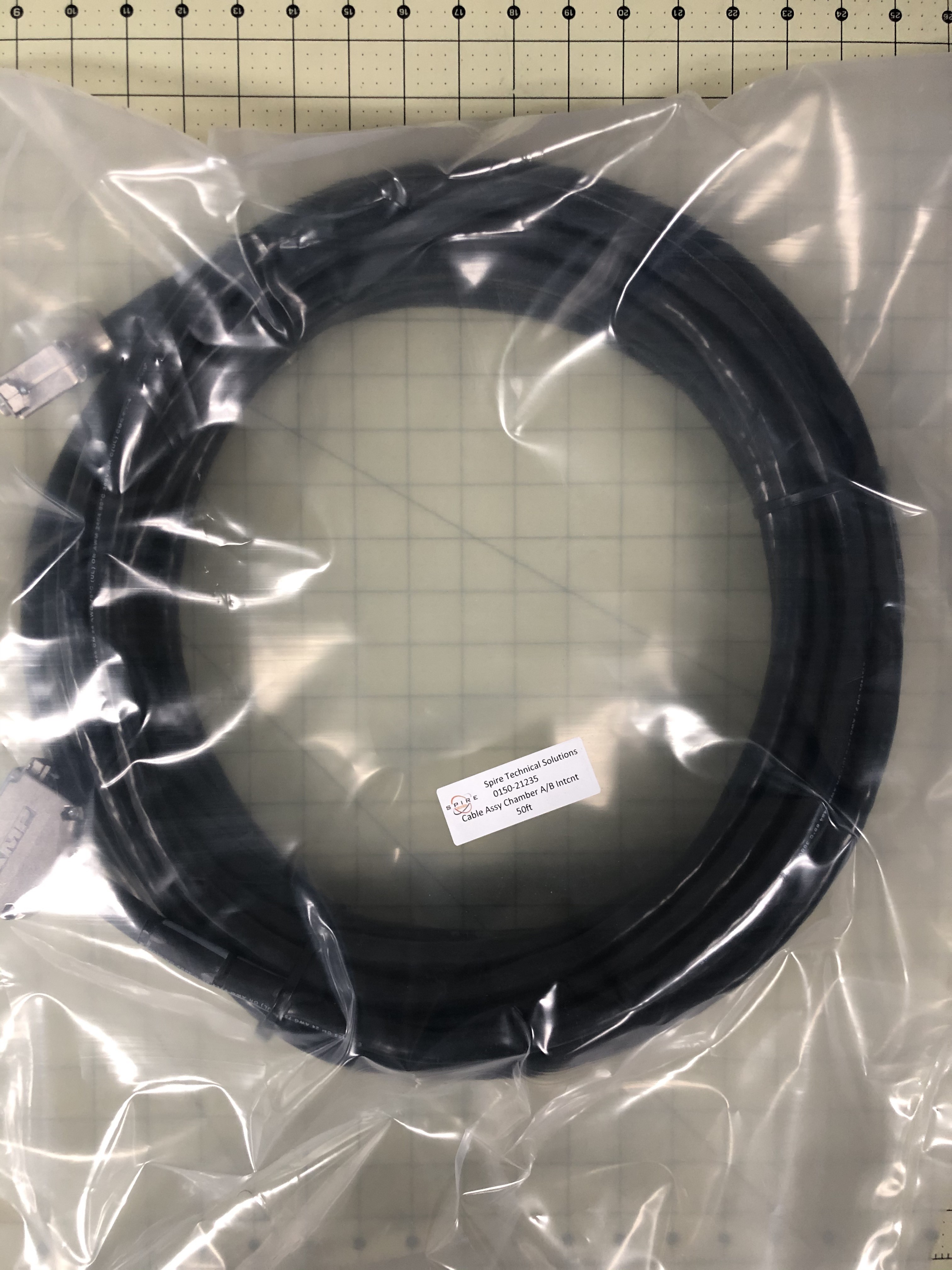 Cable Assy, Chamber A/B Intcnt