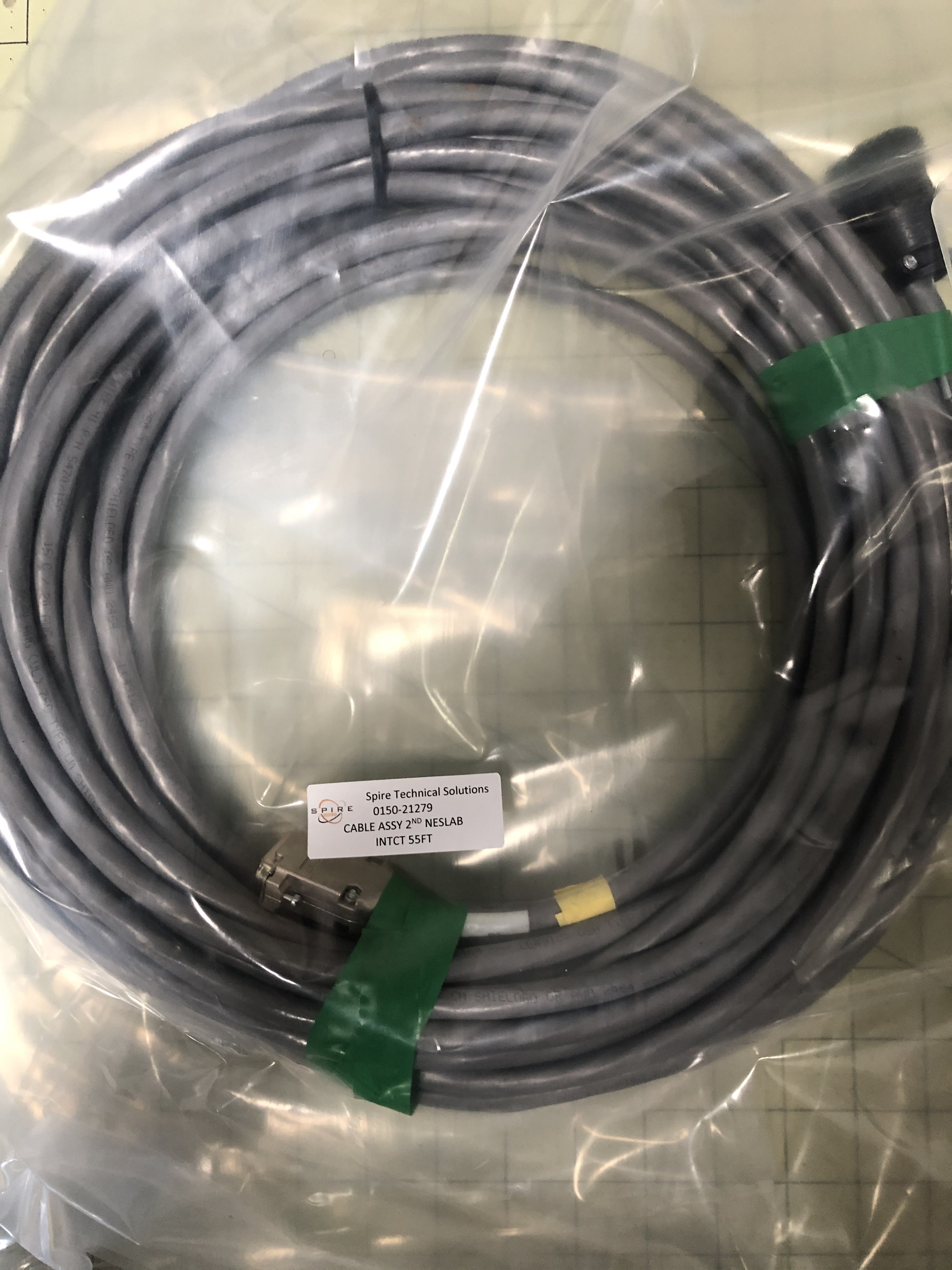 CABLE ASSY 2ND NESLAB INTCT 55FT