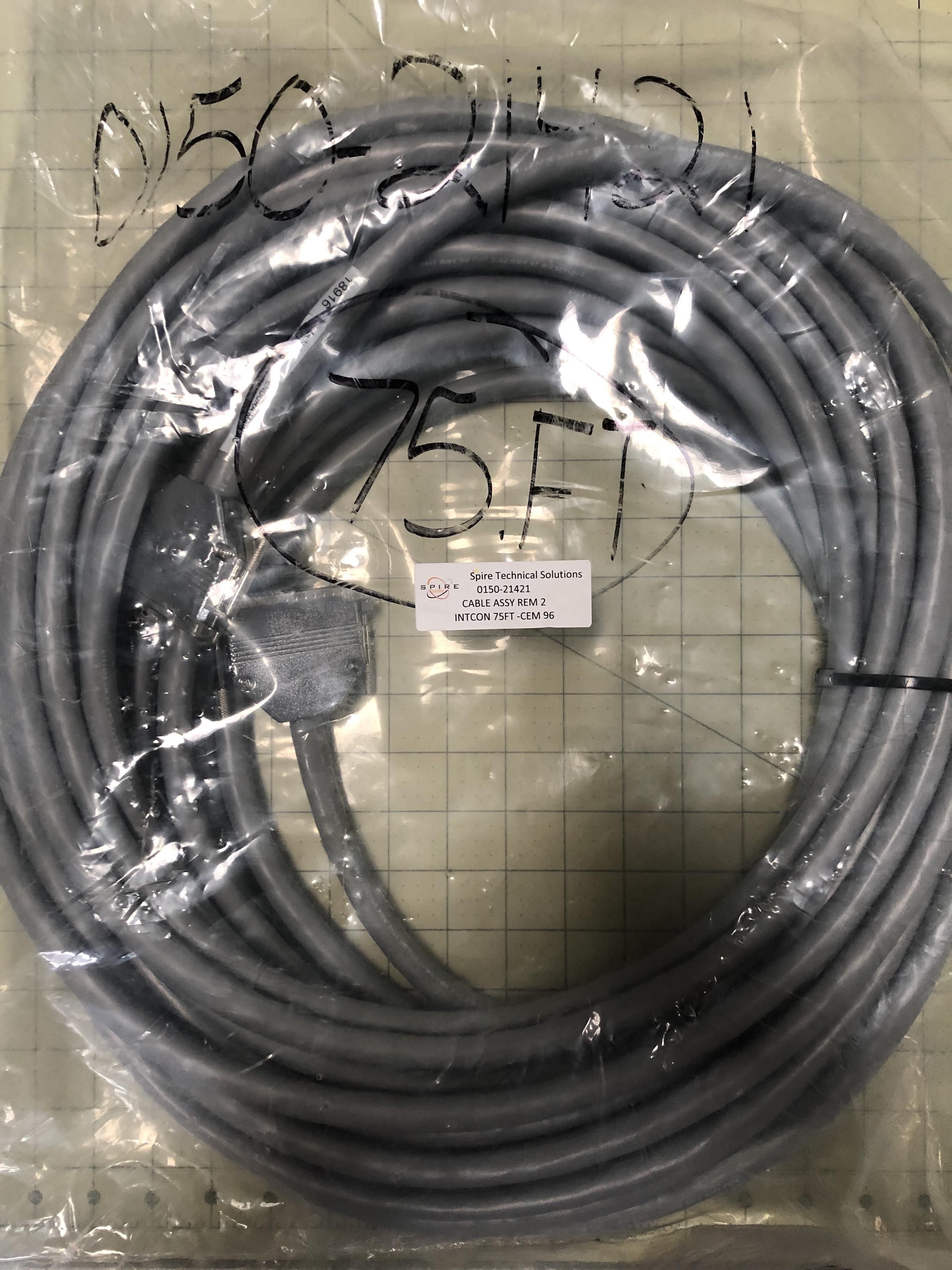 CABLE ASSY REM 2 INTCON 75FT -CEM 96