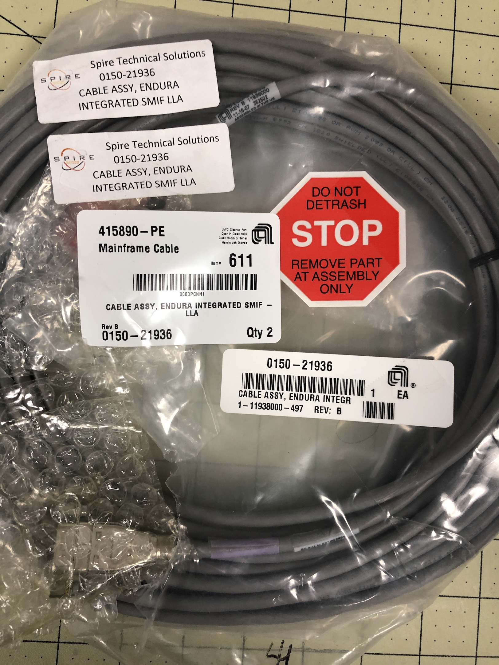 Cable Assy, Endura Integrated