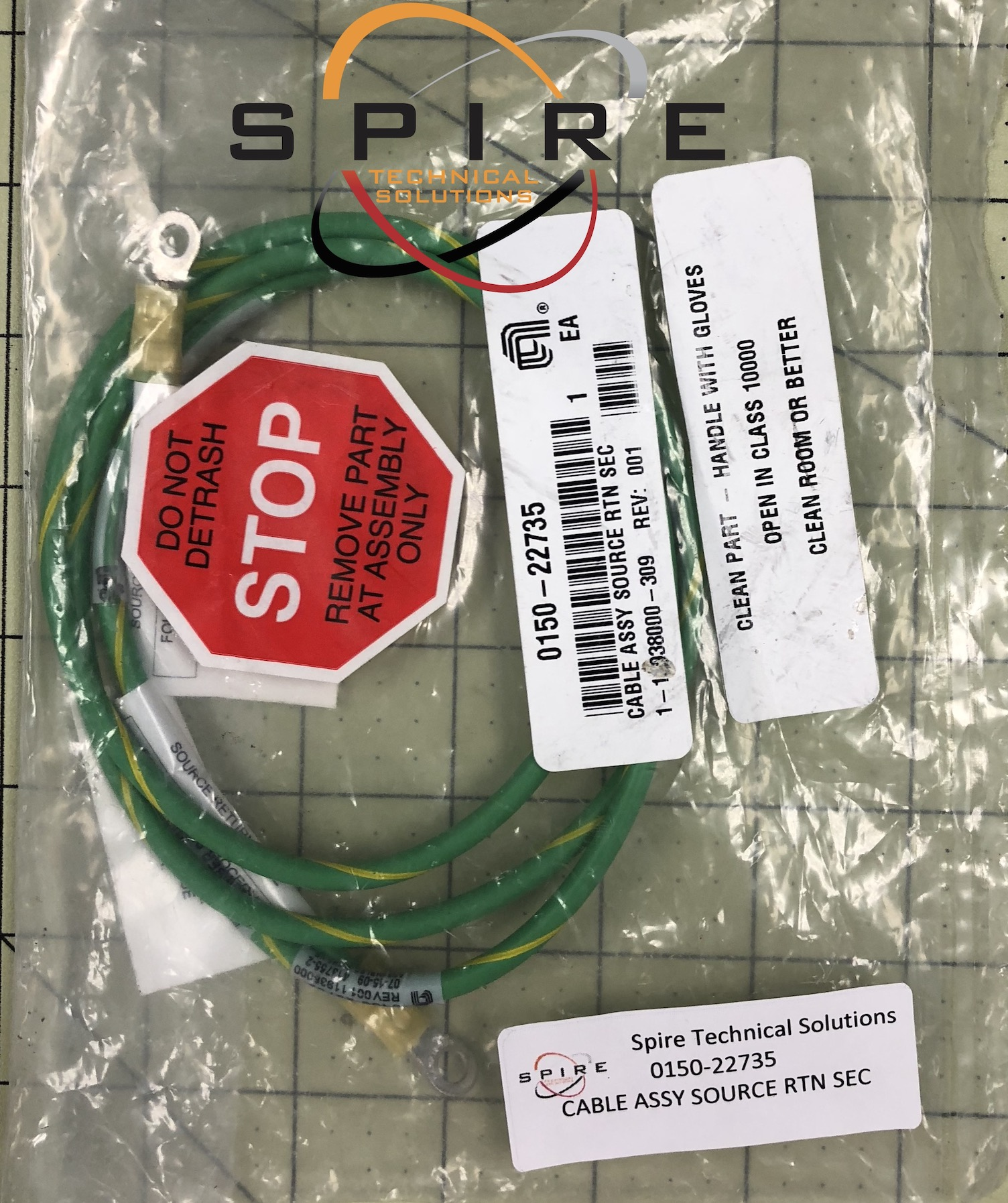CABLE ASSY SOURCE RTN SEC