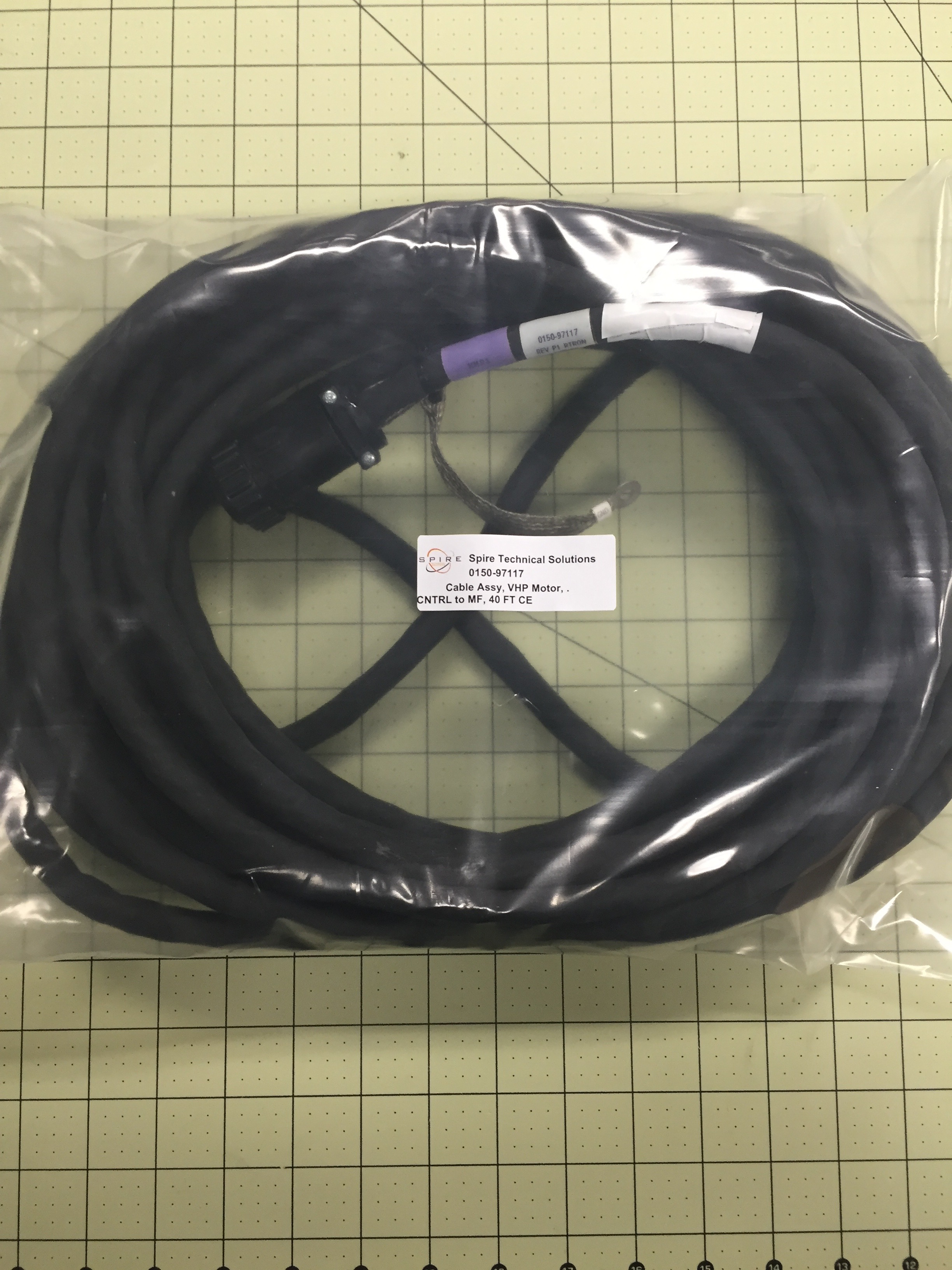 Cable Assy, VHP Motor,