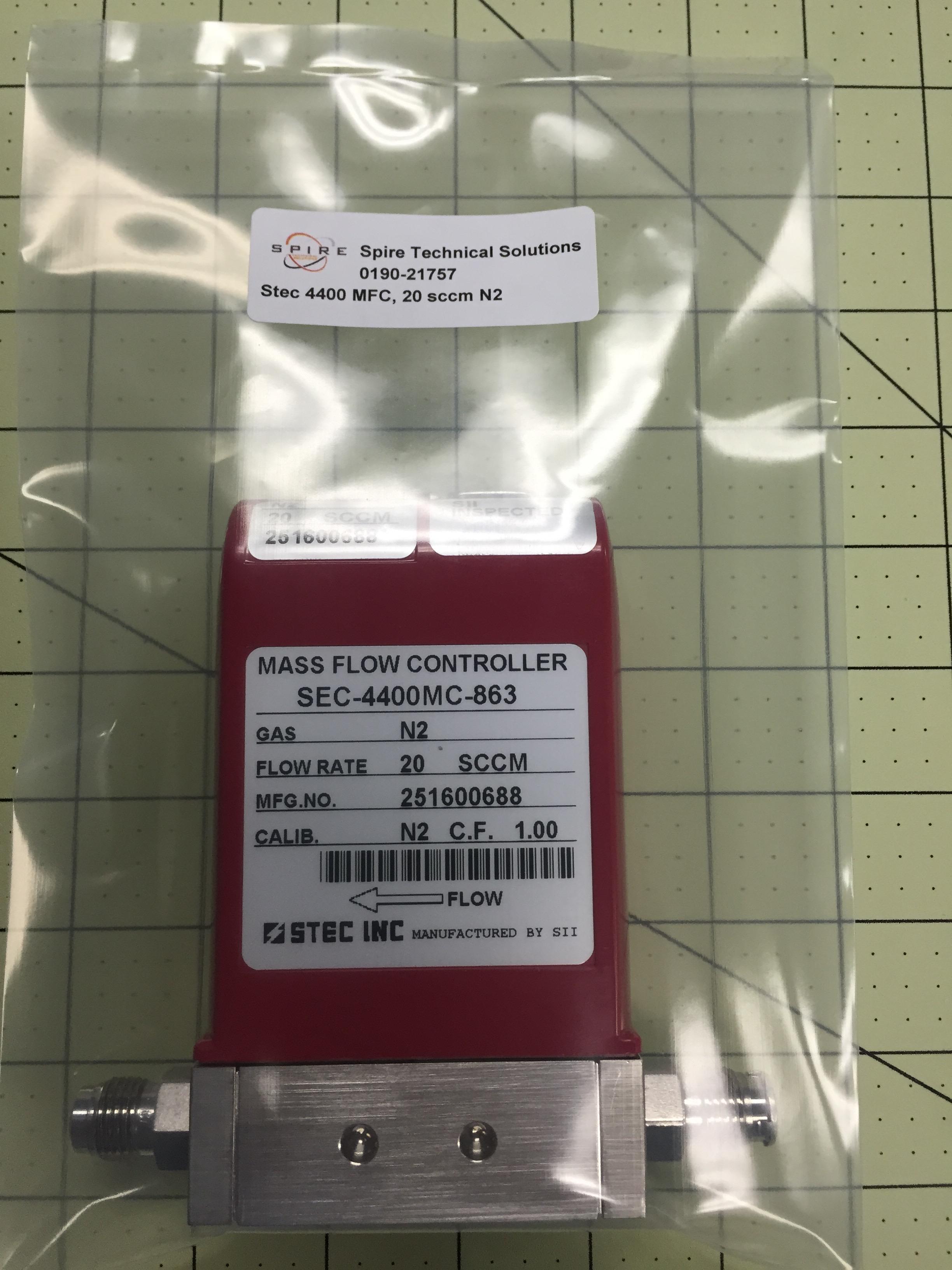 Stec 4400 MFC, 20 sccm N2