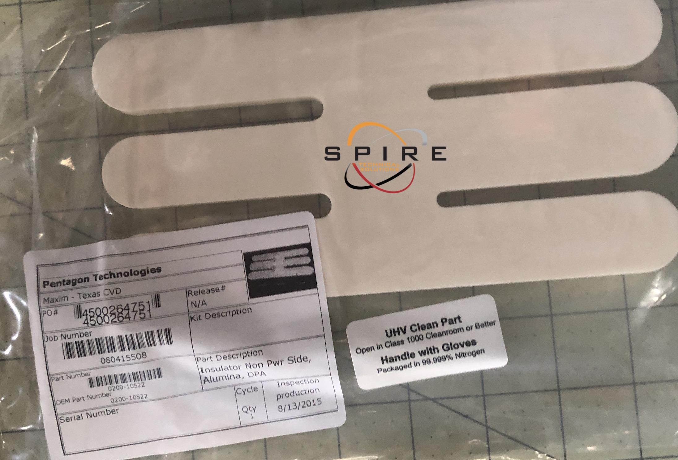 Insulator, Non-Pwr-Side, Alumina, DPA