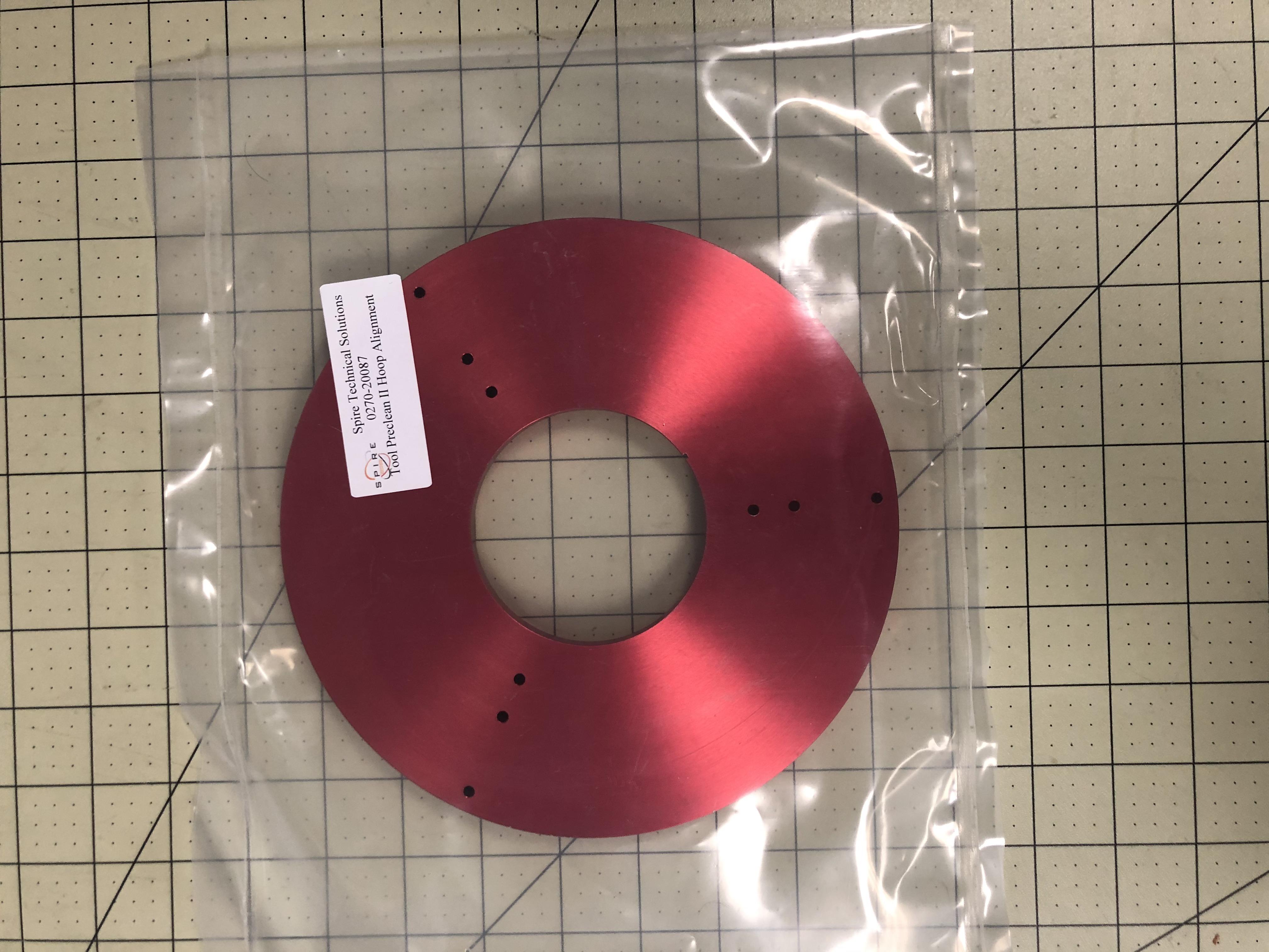 Tool, preclean II hoop alignment