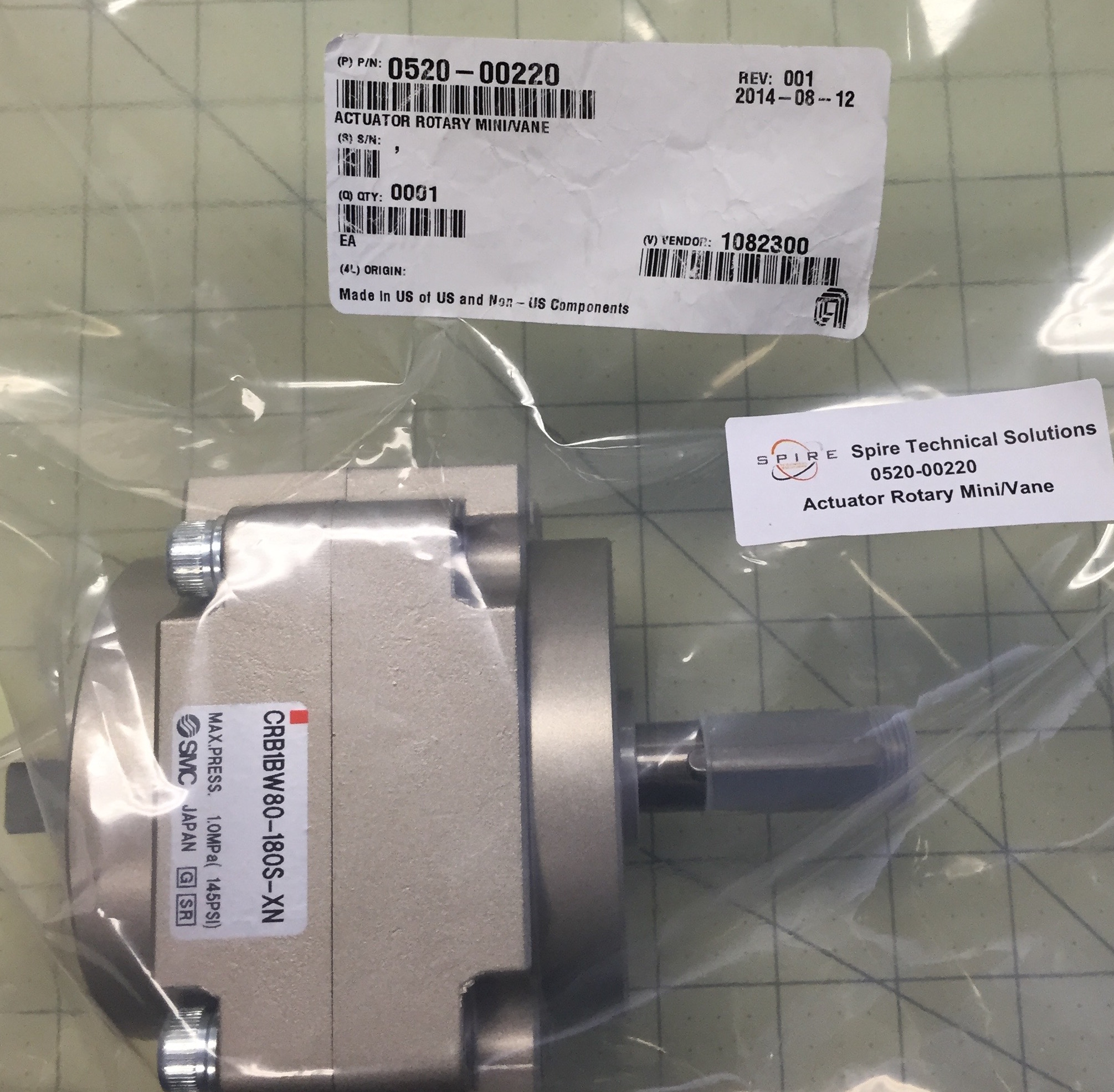 Actuator Rotary Mini/Vane