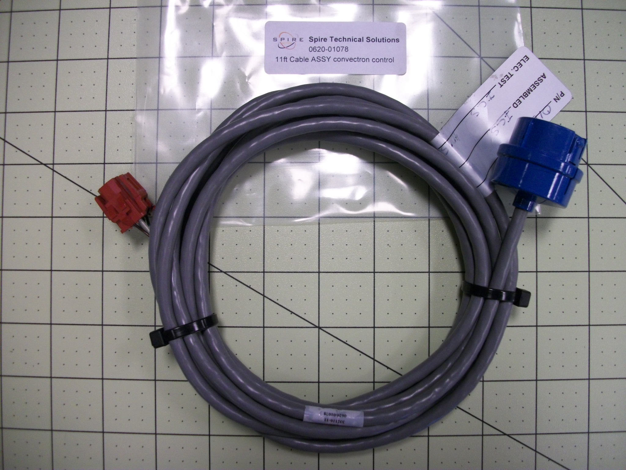 11ft Cable ASSY convectron control