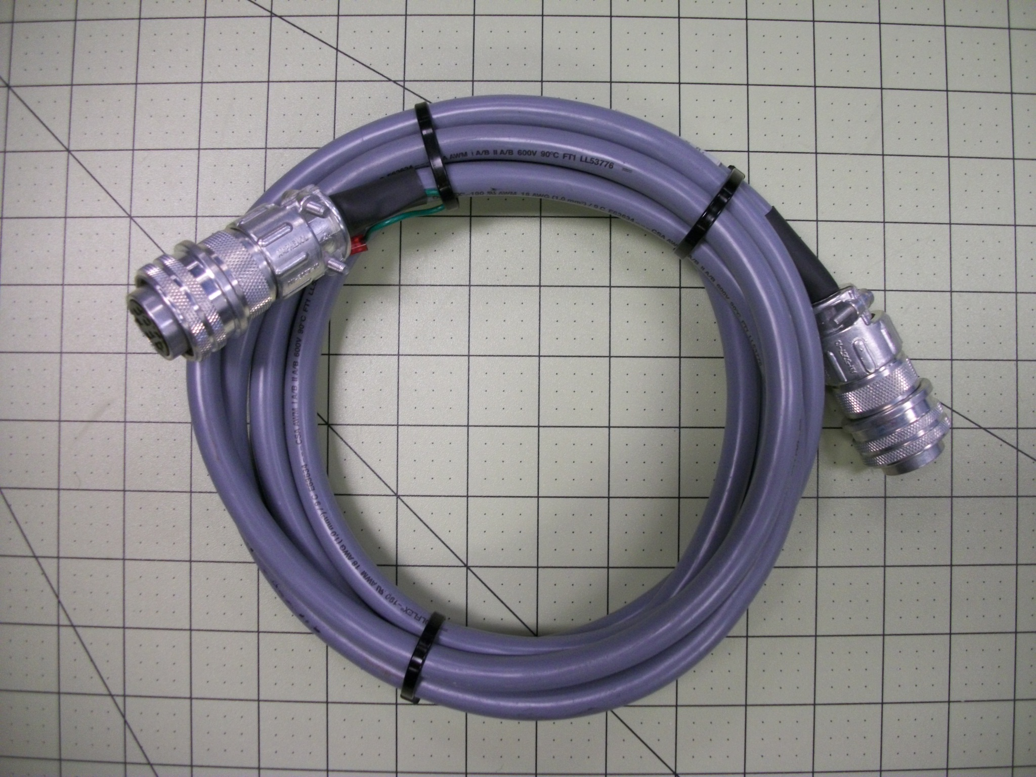 Cable ASSY controller onboard 50'L 9P–CI