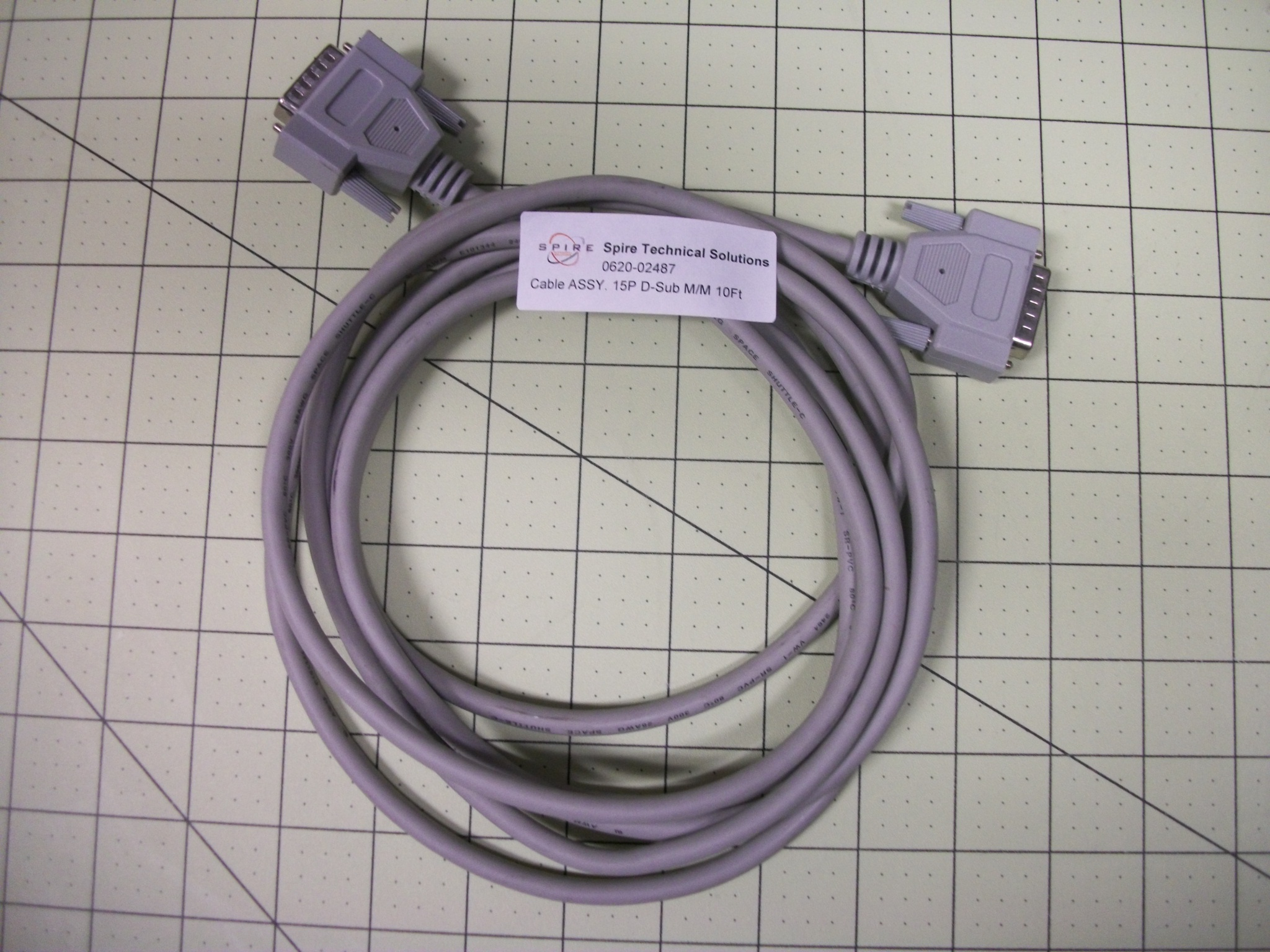 Cable ASSY. 15P D-Sub M/M 10Ft