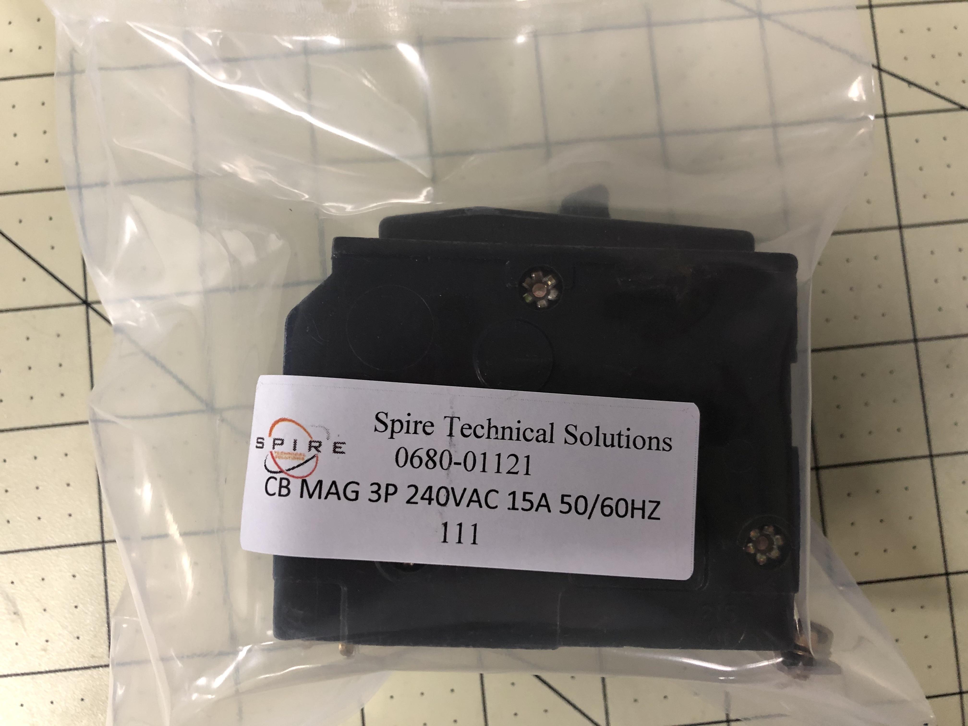 CB MAG 3P 240VAC 15A 50/60HZ