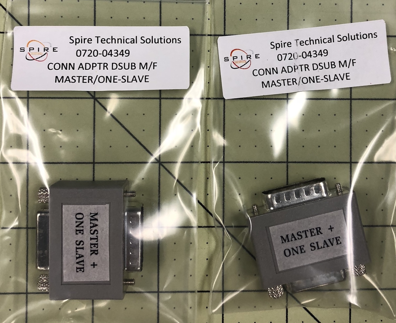 Adaptor D Sub M/F M/One-Slave