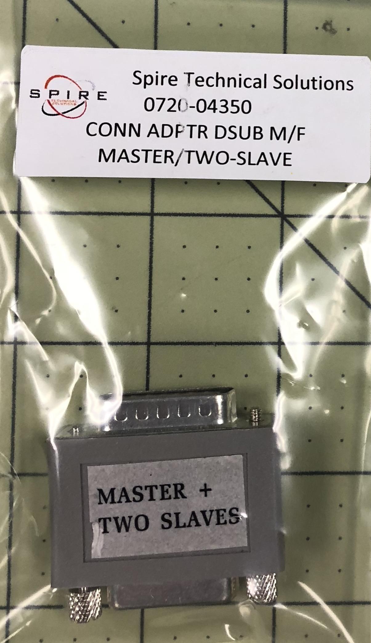 Adaptor D Sub 9Pos-M/F Master/Two Slave