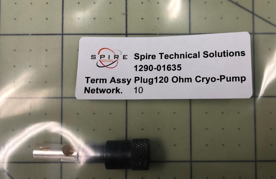 Term Assy Plug120 Ohm Cryo-Pum