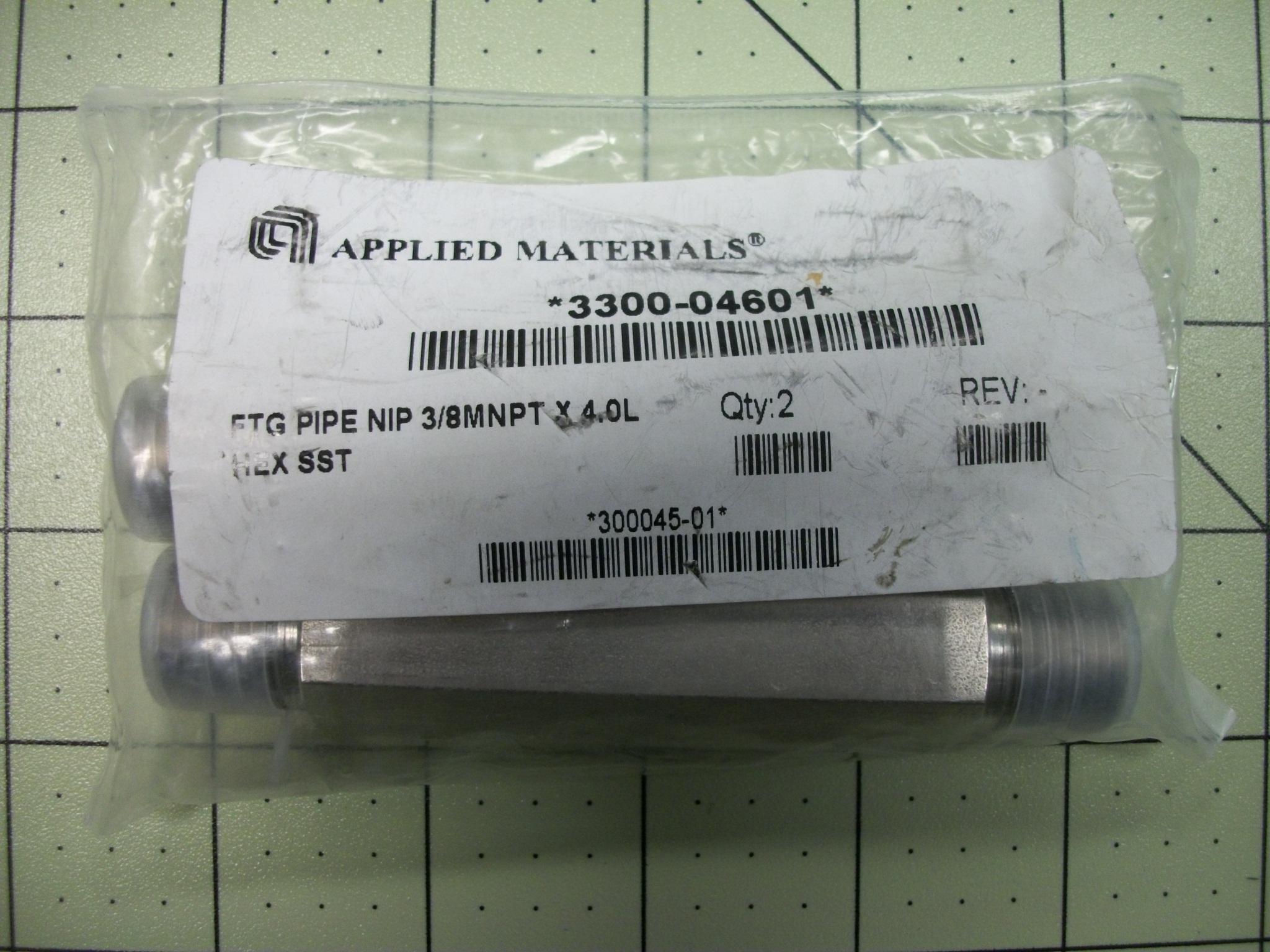 FTG Pipe NIP 3/8MNPT X 4.0L