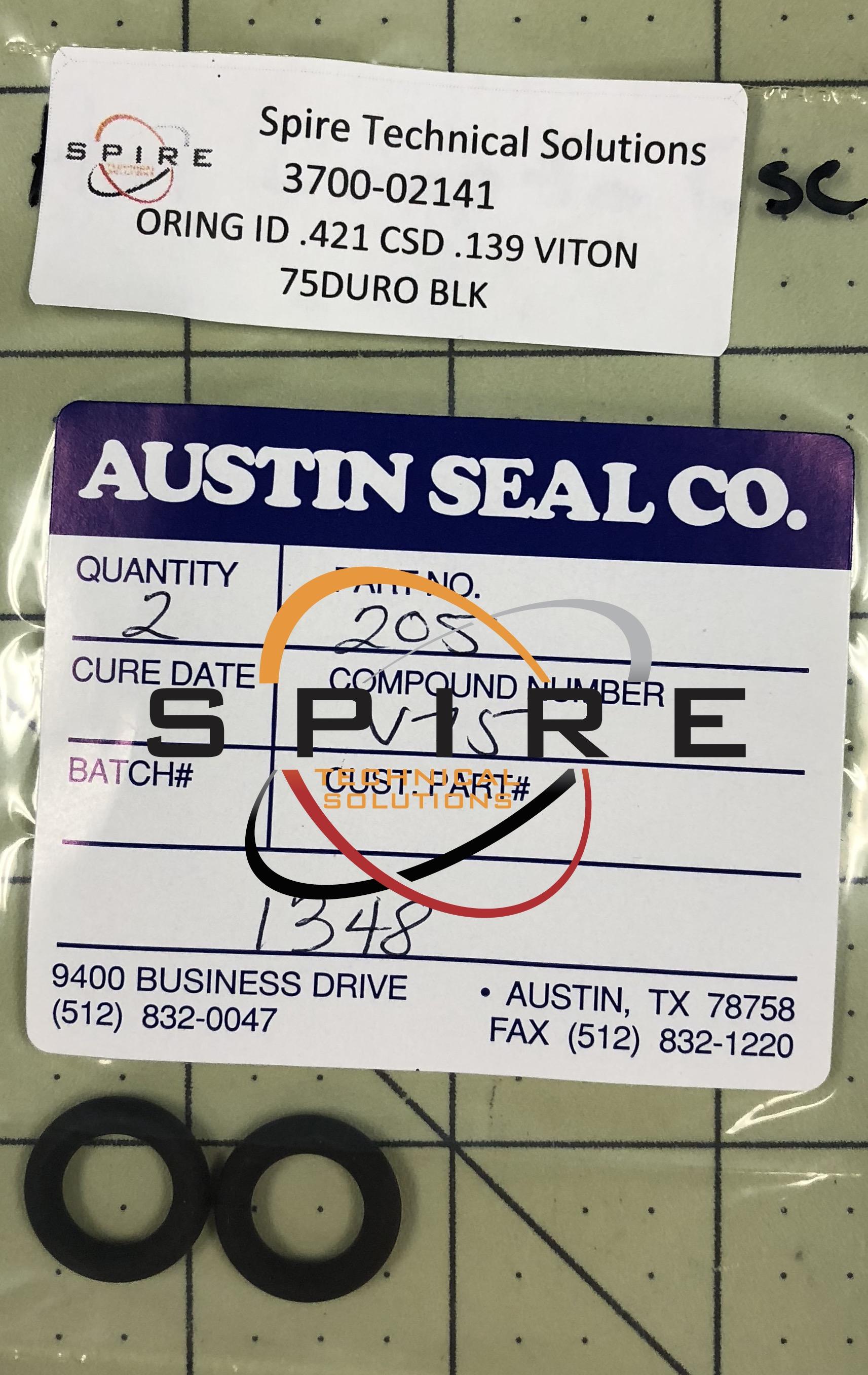 ORING ID .421 CSD .139 VITON