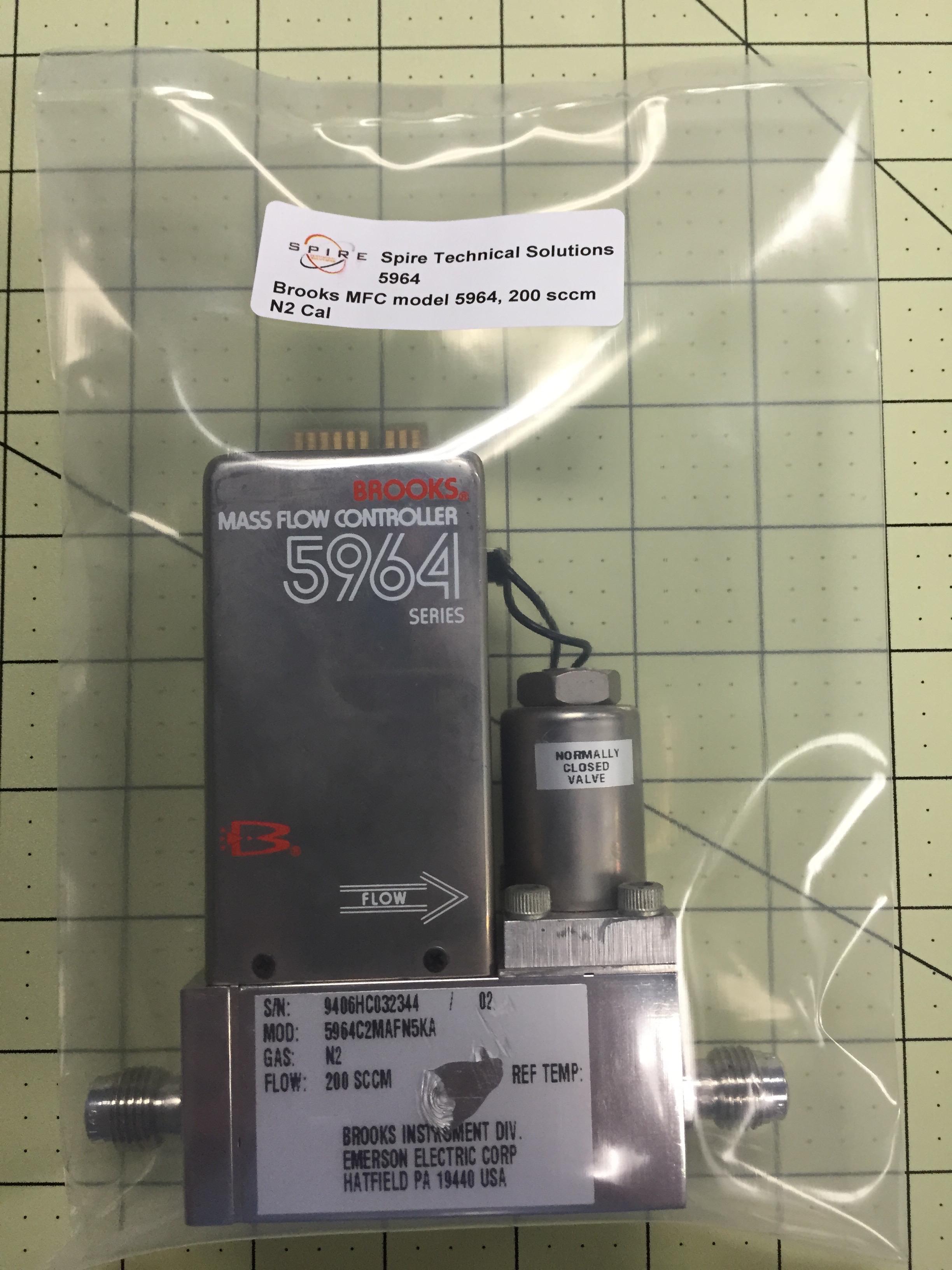 Brooks MFC model 5964, 200 scc