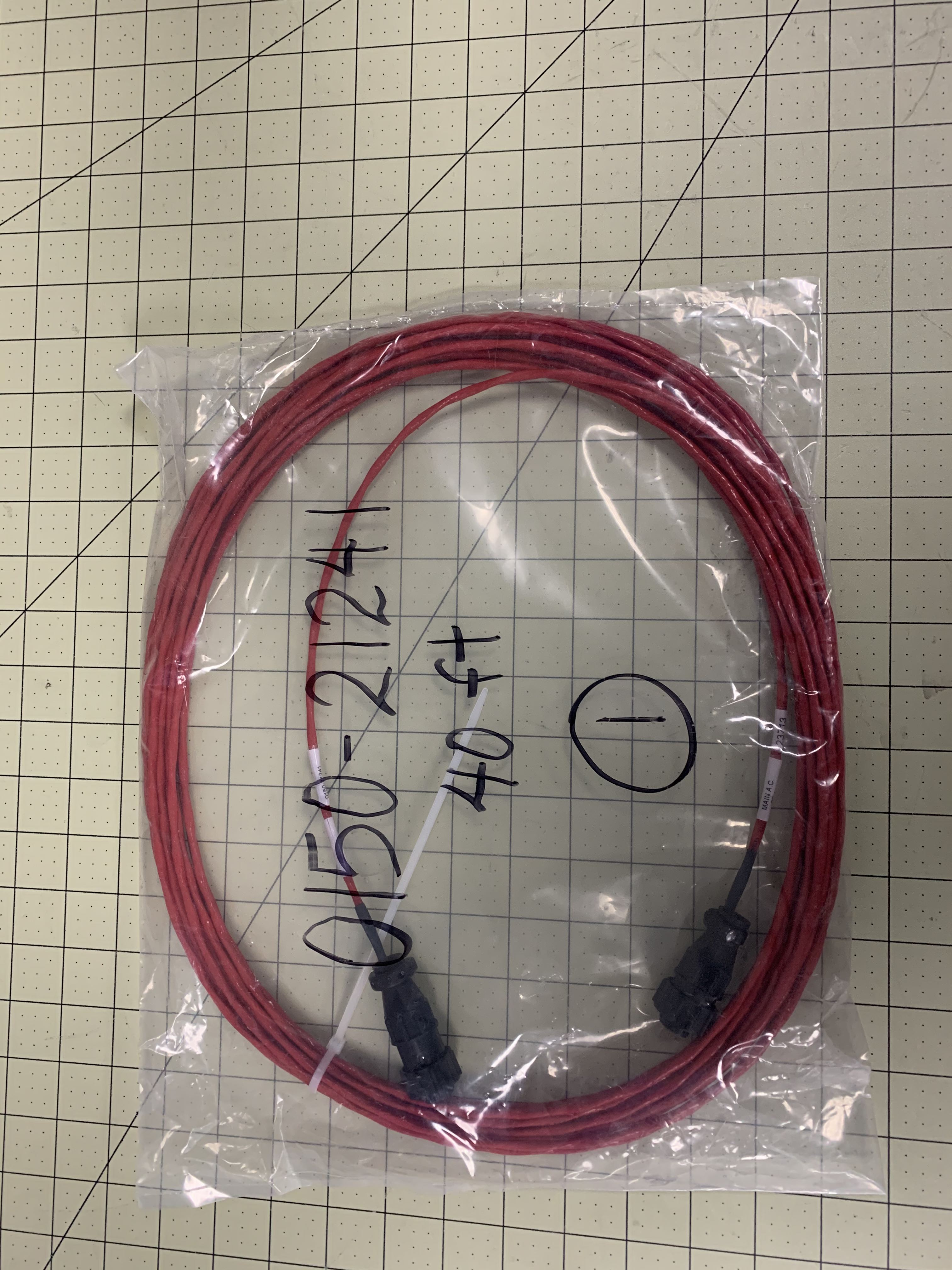 CABLE ASSY EMO FRONT BEZEL INTCNT 40FT