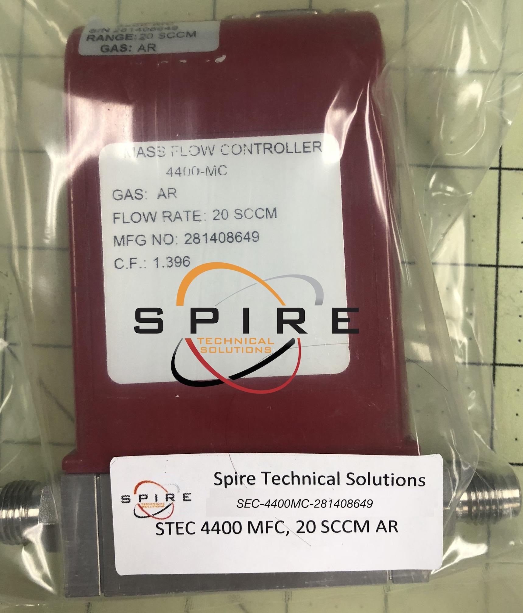 STEC 4400 MFC, 20 SCCM AR
