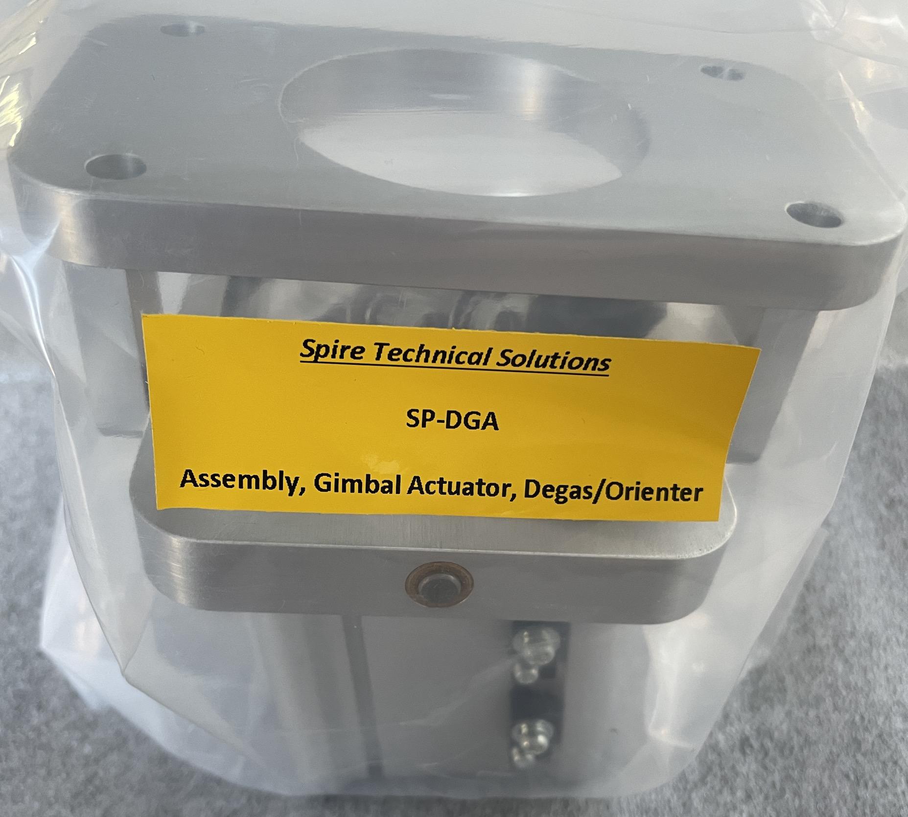 Assembly, Gimbal Actuator, Degas/Orienter