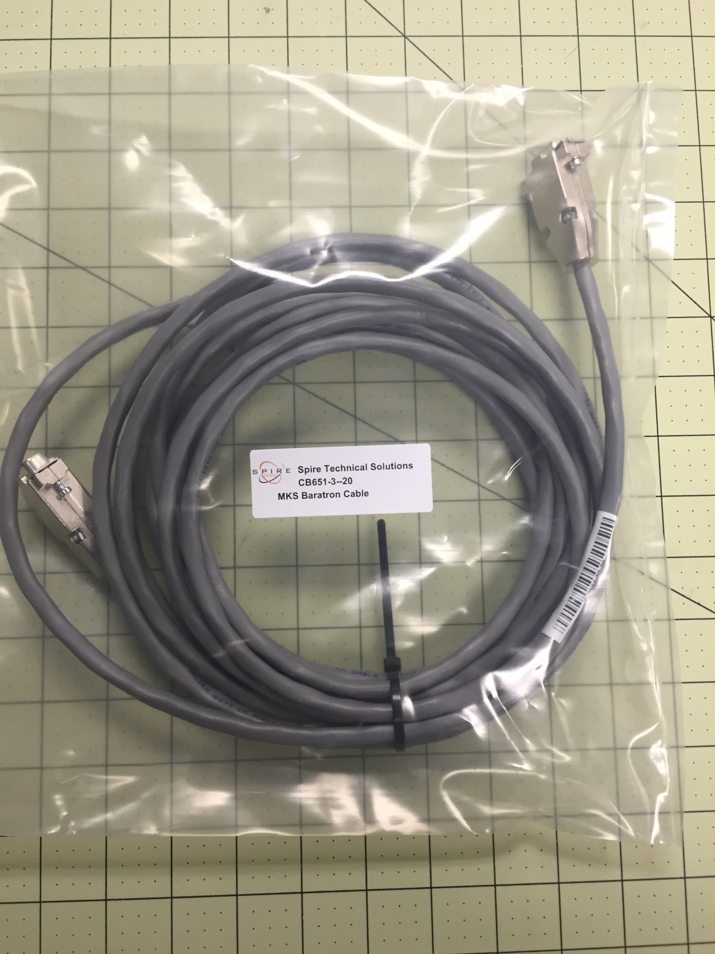 MKS Baratron Cable