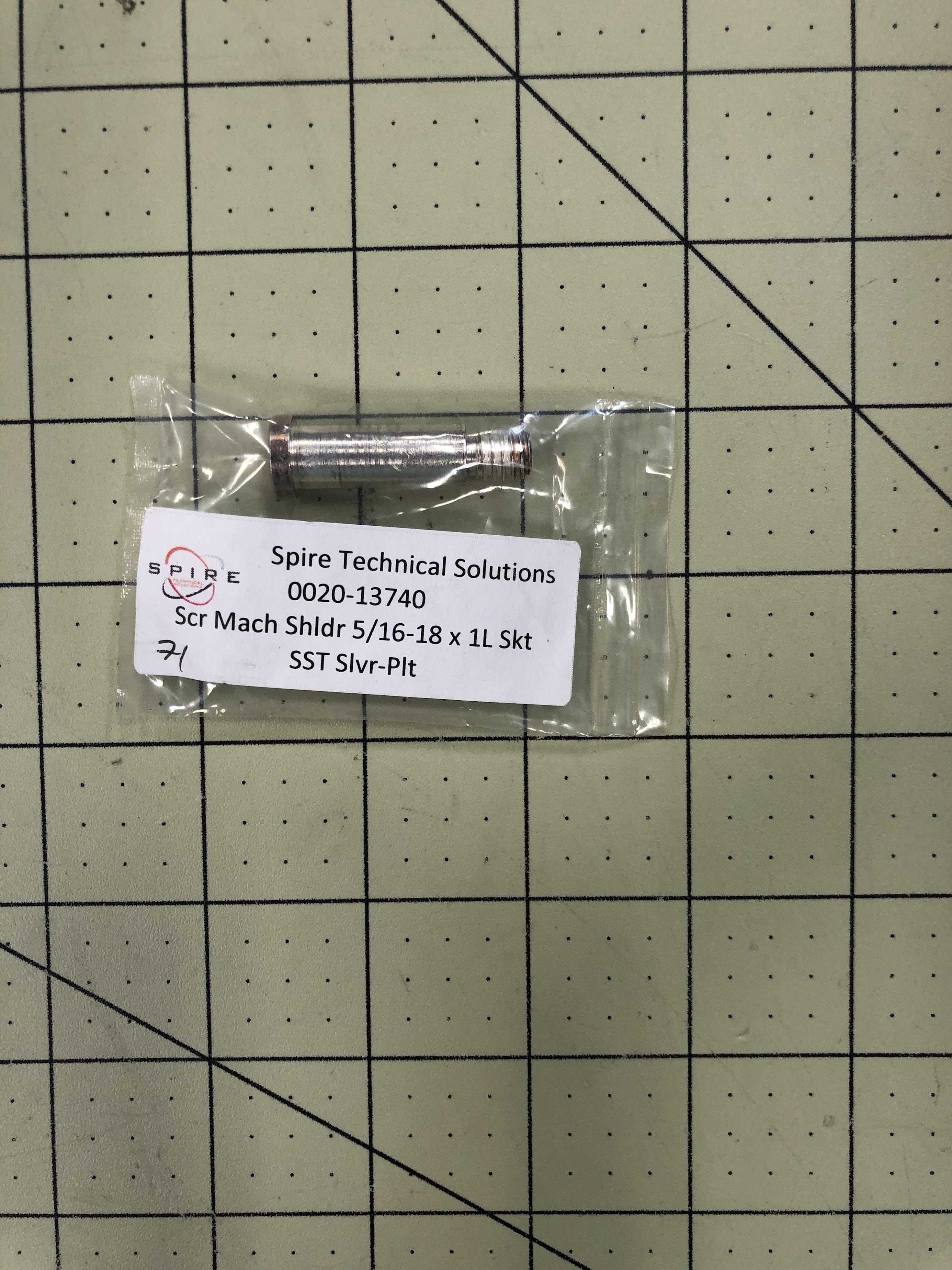 SCR Mach Shldr 5/16-18x1L Skt