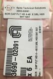SCR CAP FLT HD 4-40  X 3/8L HEX SKT SST